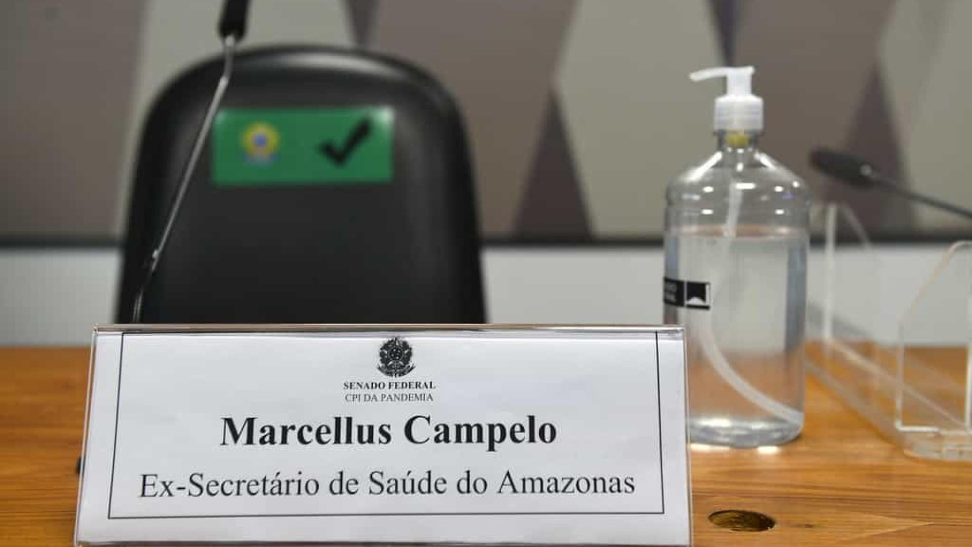 CPI da Covid abre sessão na qual será ouvido o ex-secretário da Saúde do Amazonas