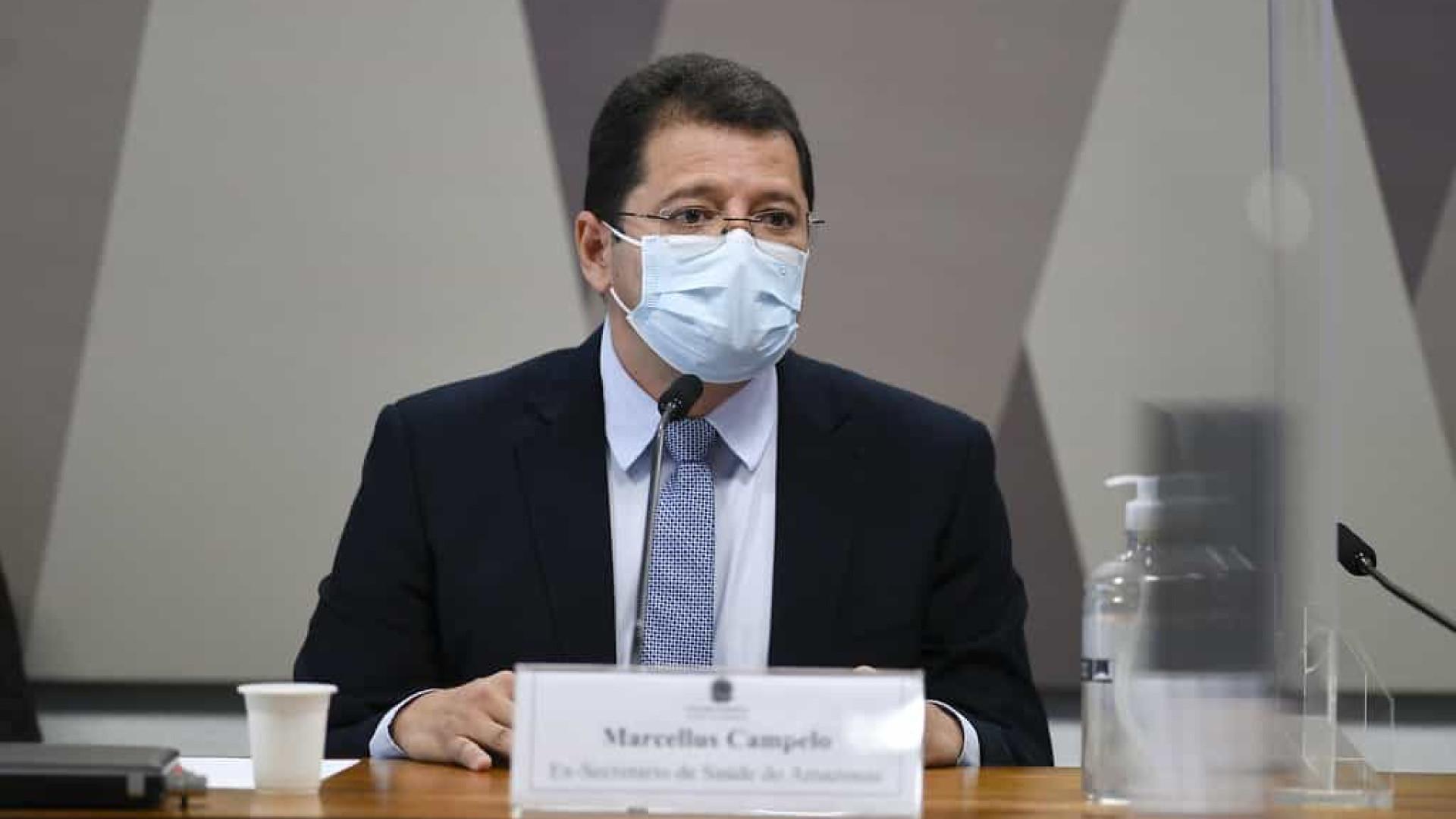 Na CPI, senadores alertam Campêlo que White Martins alertou AM sobre oxigênio