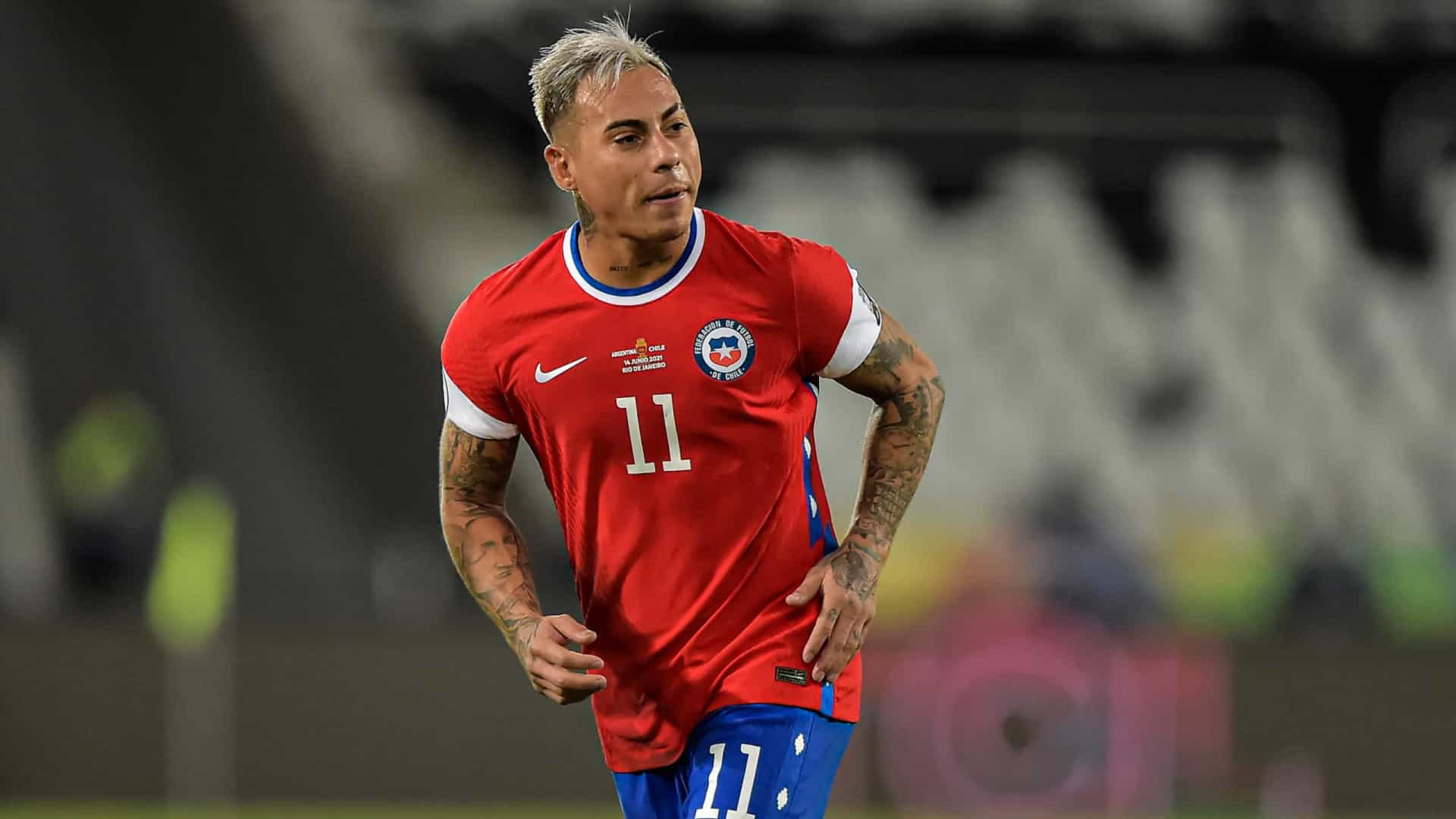 Chile vai esconder símbolo da Nike em partida contra a Bolívia na Copa América