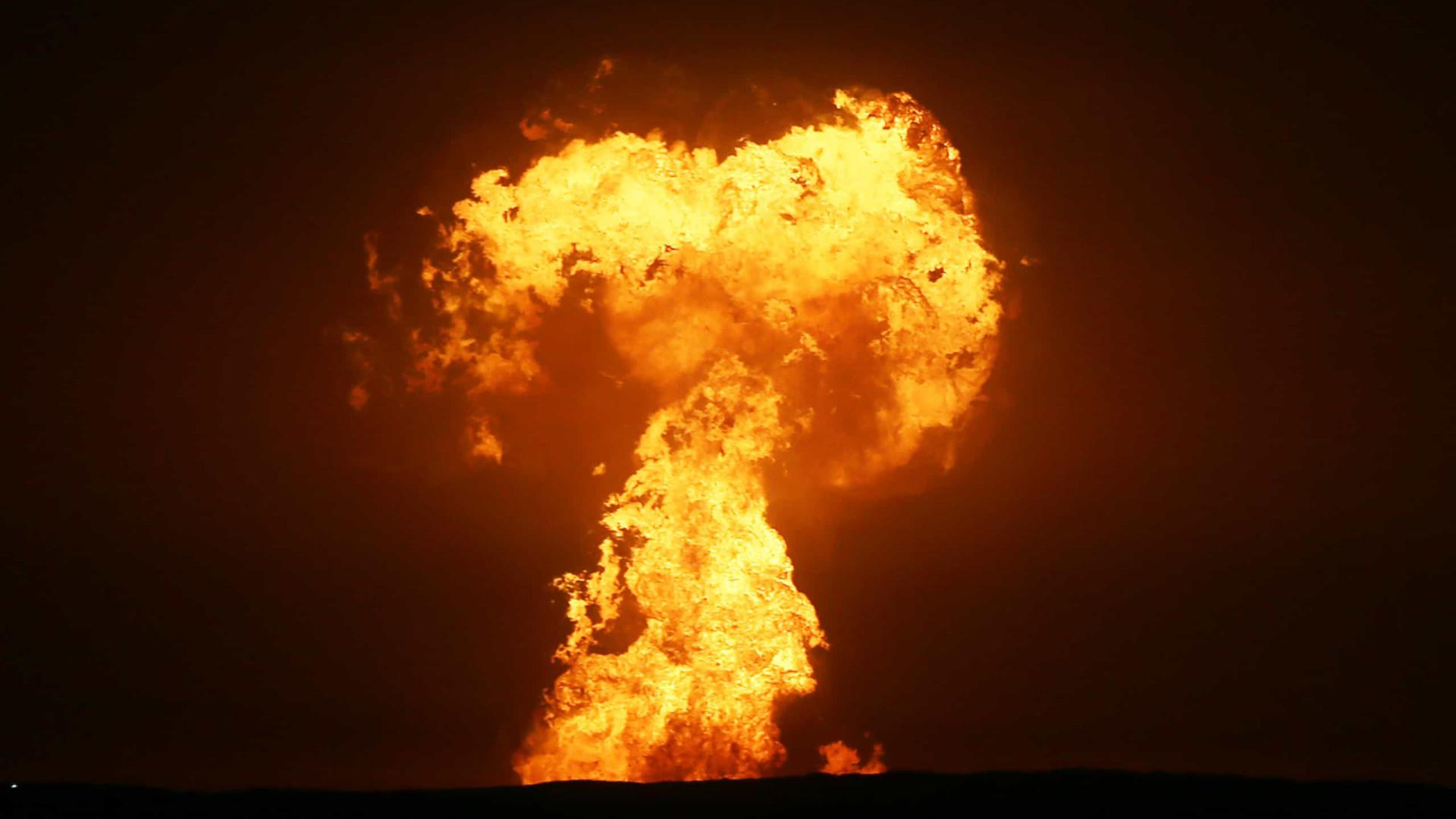 Explosão no mar Cáspio terá sido causada por um vulcão; veja