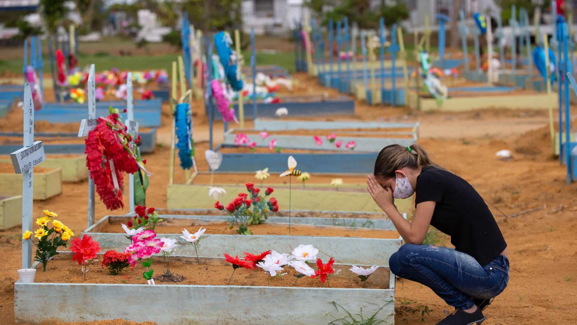 Brasil registra mais 764 mortes por covid-19 nas últimas 24h