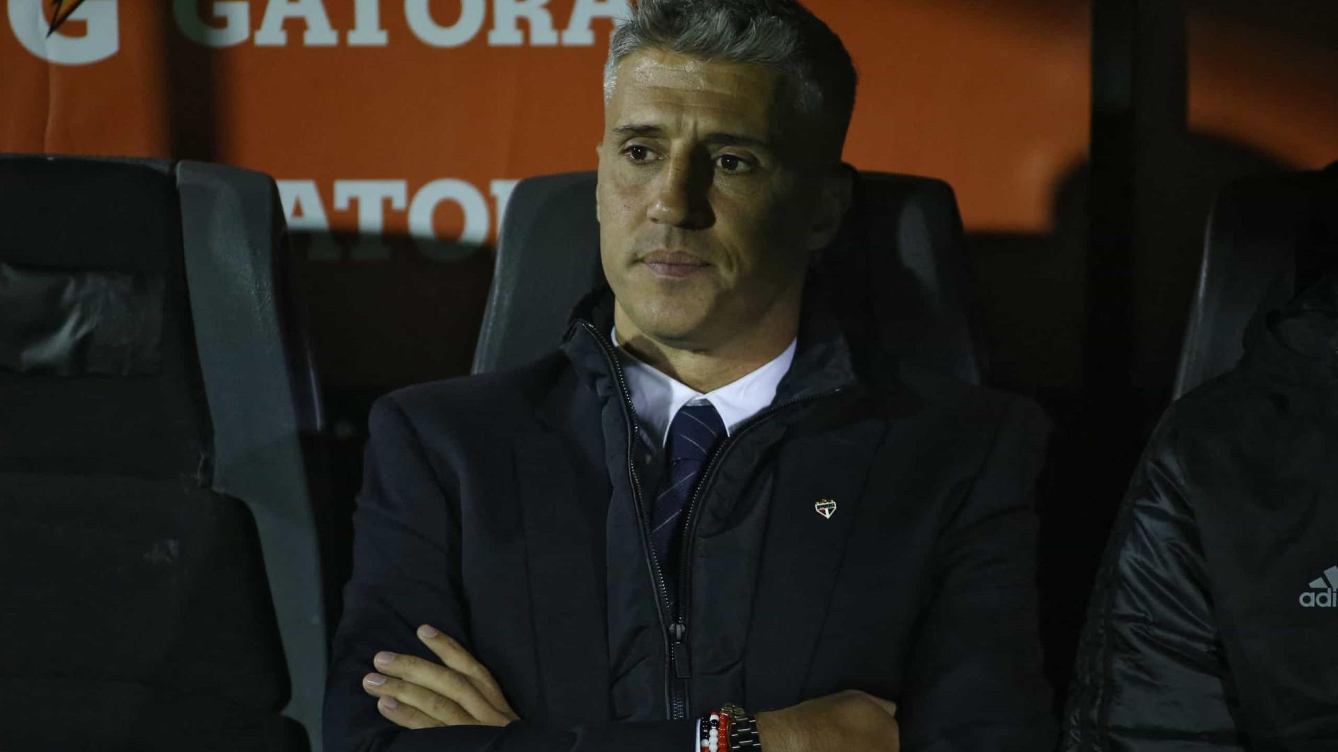 Eliminado da Copa do Brasil, Crespo aponta São Paulo com vaga na Libertadores