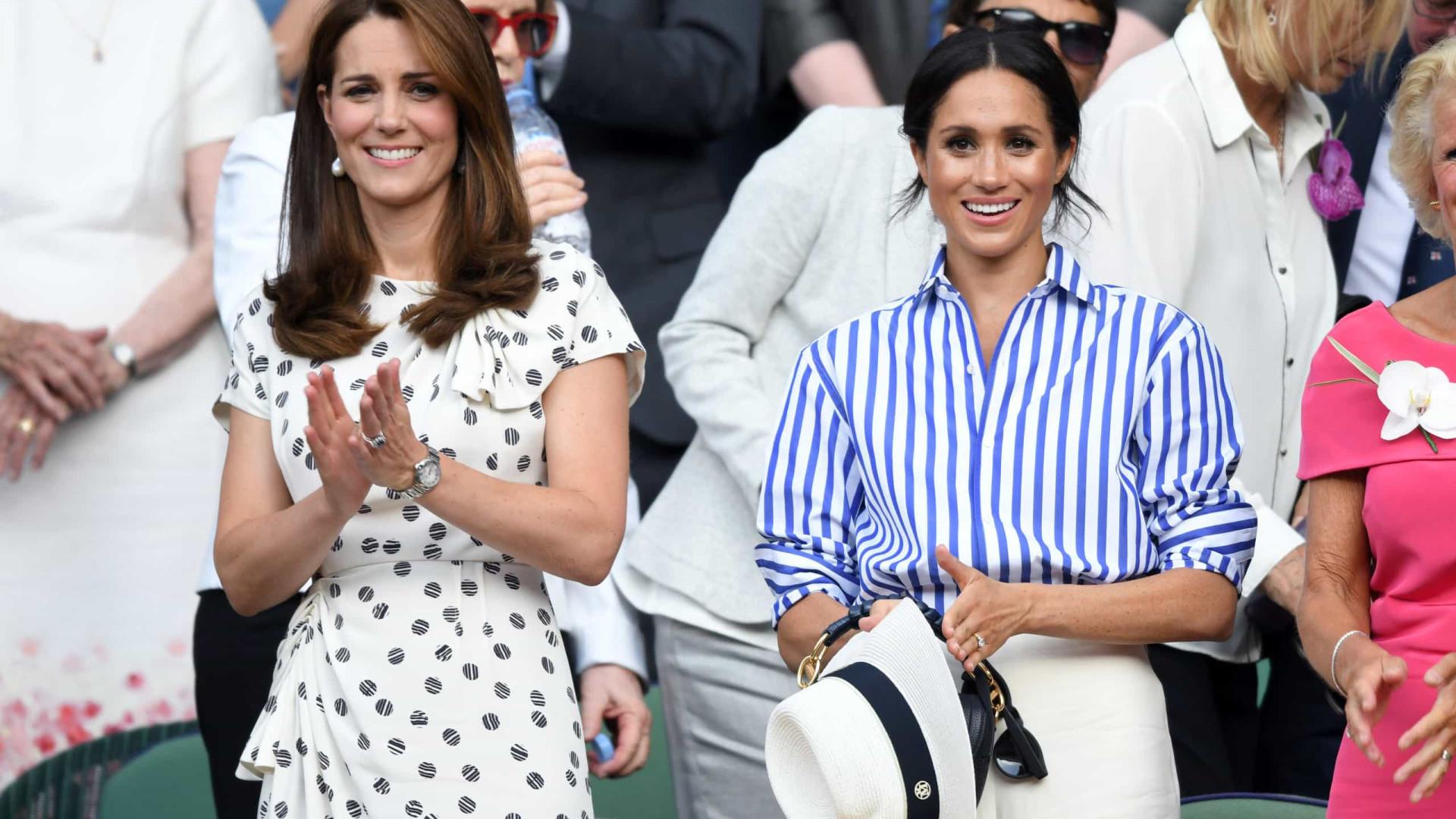 Kate Middleton e Meghan Markle amigas? Duquesas já trocam mensagens