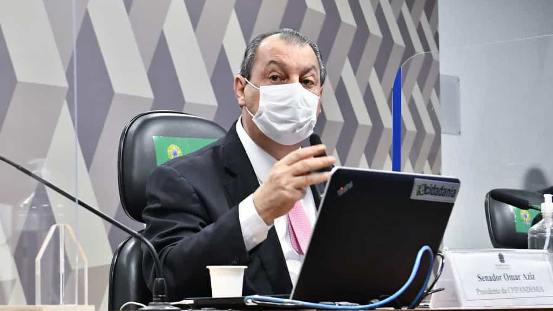 Omar Aziz pede interpelação de Braga Netto por denúncia de senador