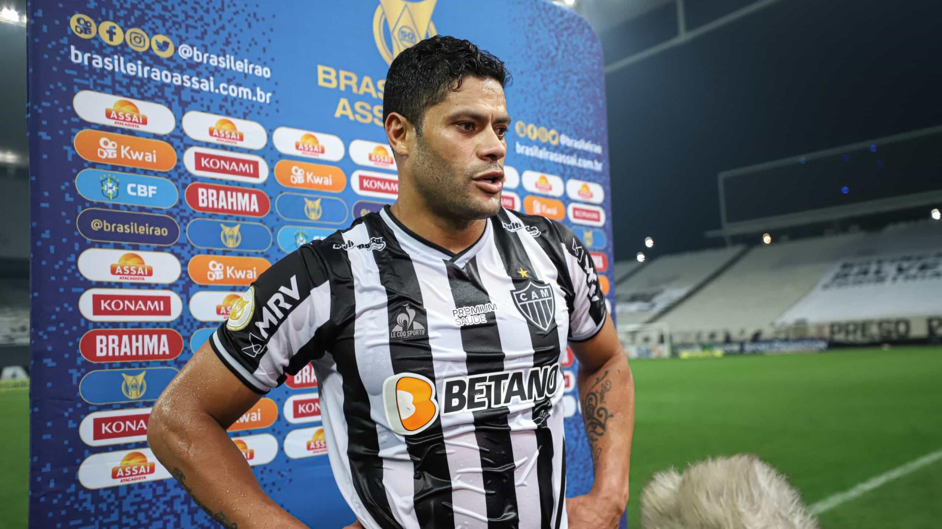 No aniversário de 35 anos, Hulk faz dois em vitória do Atlético-MG sobre o Bahia