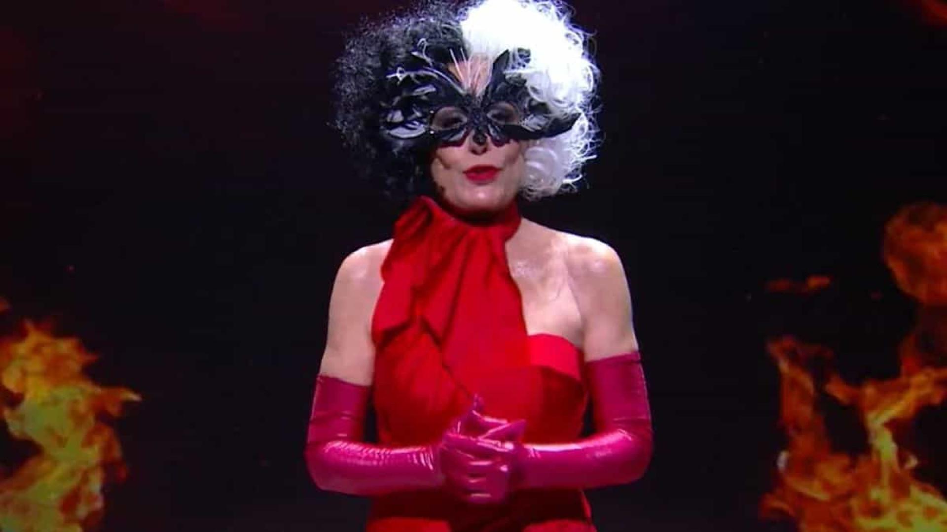 Ana Maria Braga viraliza ao surgir vestida de Cruella no 'Mais Você'
