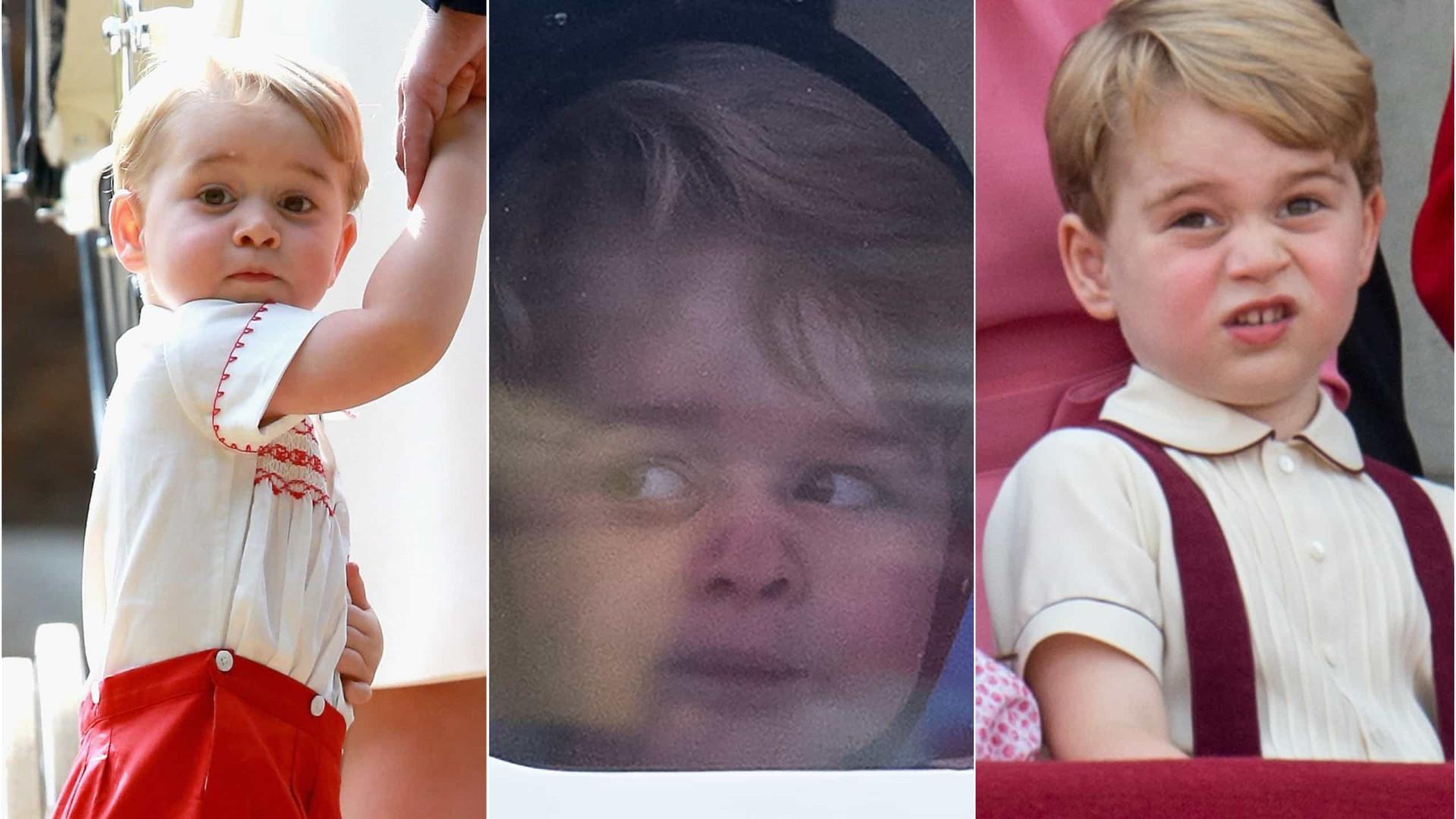 George faz oito anos! Os momentos mais amorosos (e cômicos) do príncipe