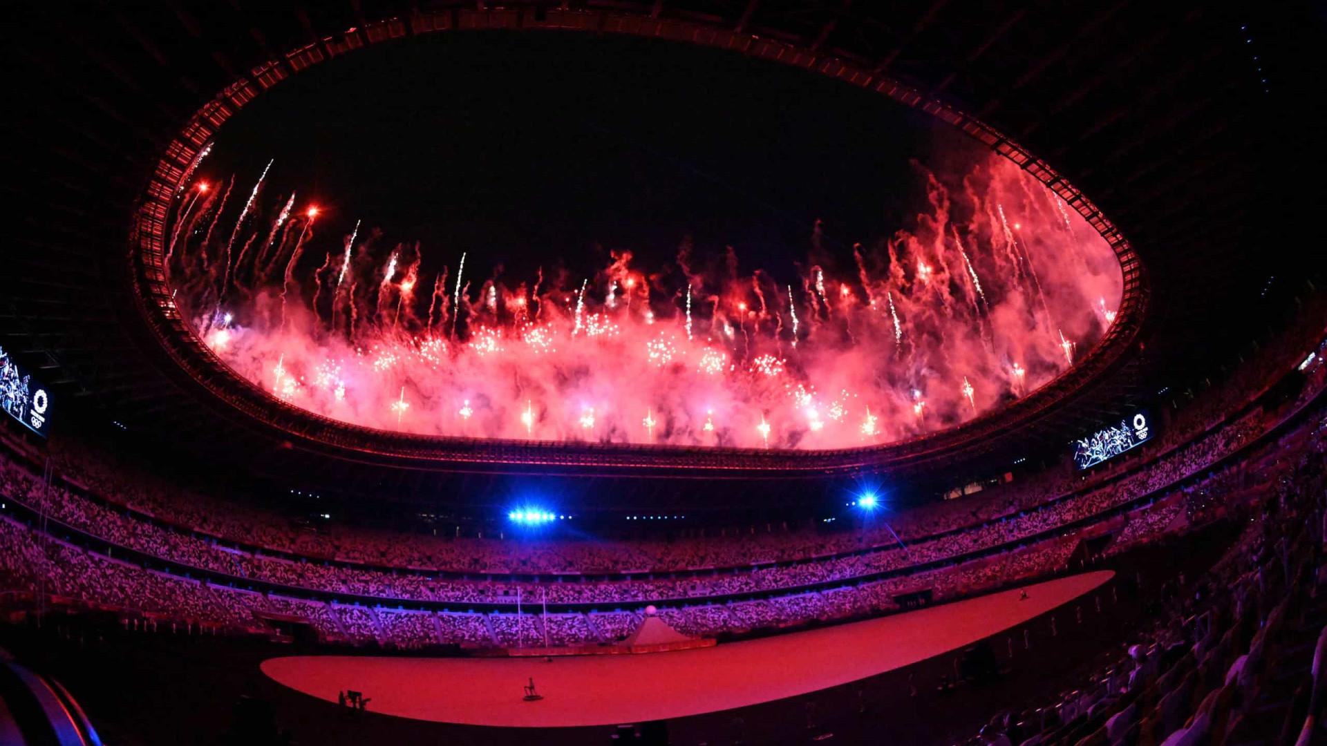 Começa a cerimônia de abertura das Olimpíadas de Tóquio