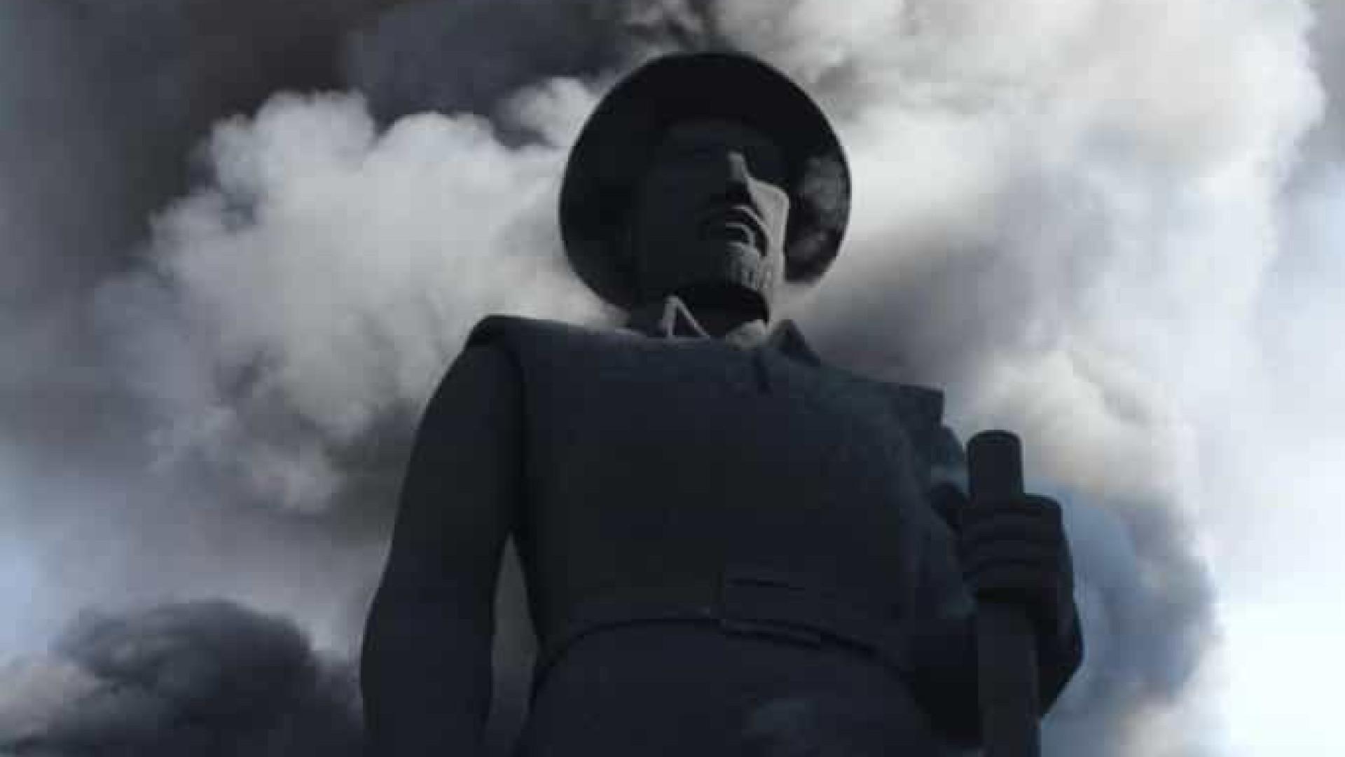 Preso suspeito de atear fogo em estátua de Borba Gato