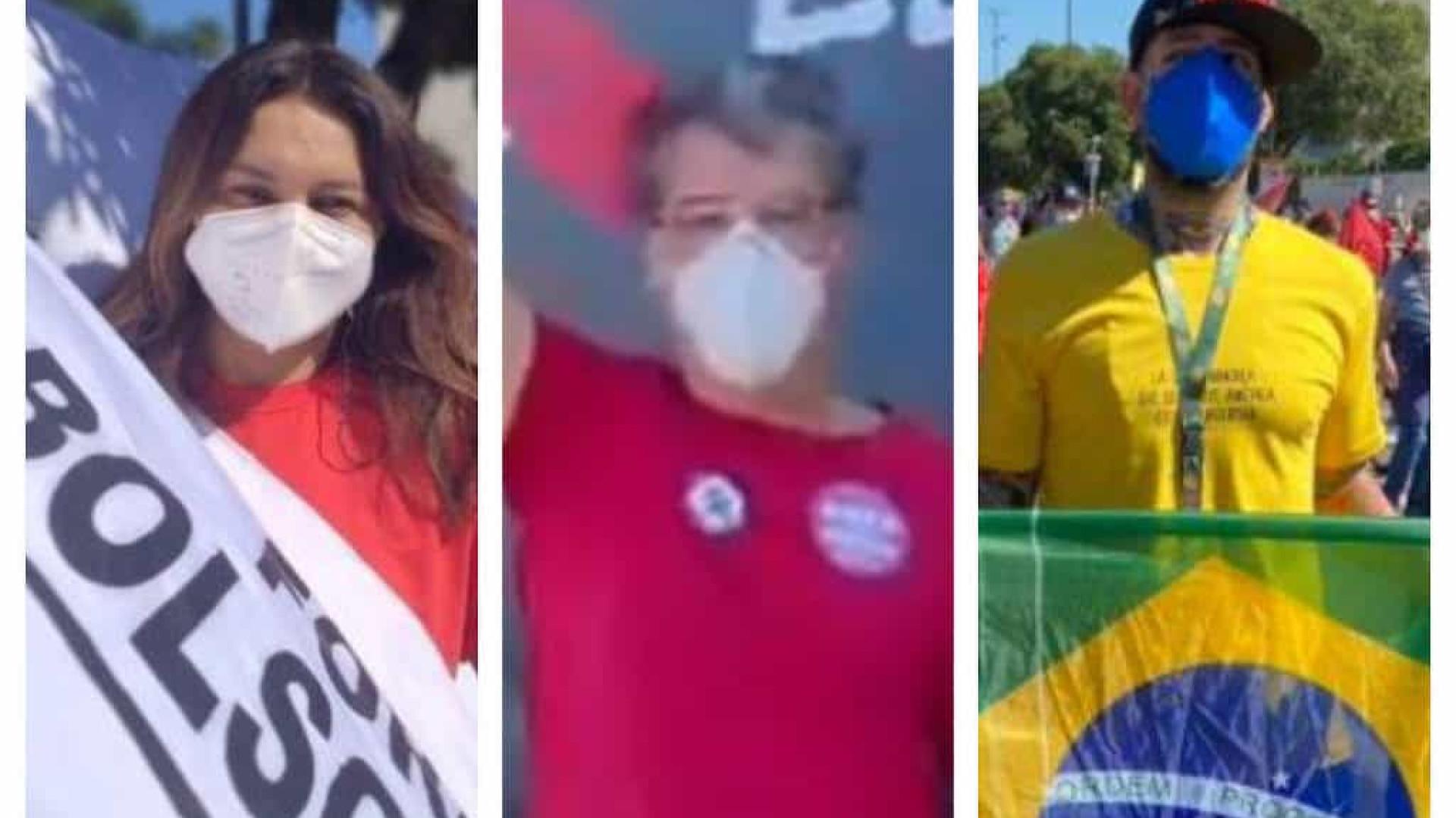 Famosos comparecem a manifestações que pedem impeachment de Bolsonaro