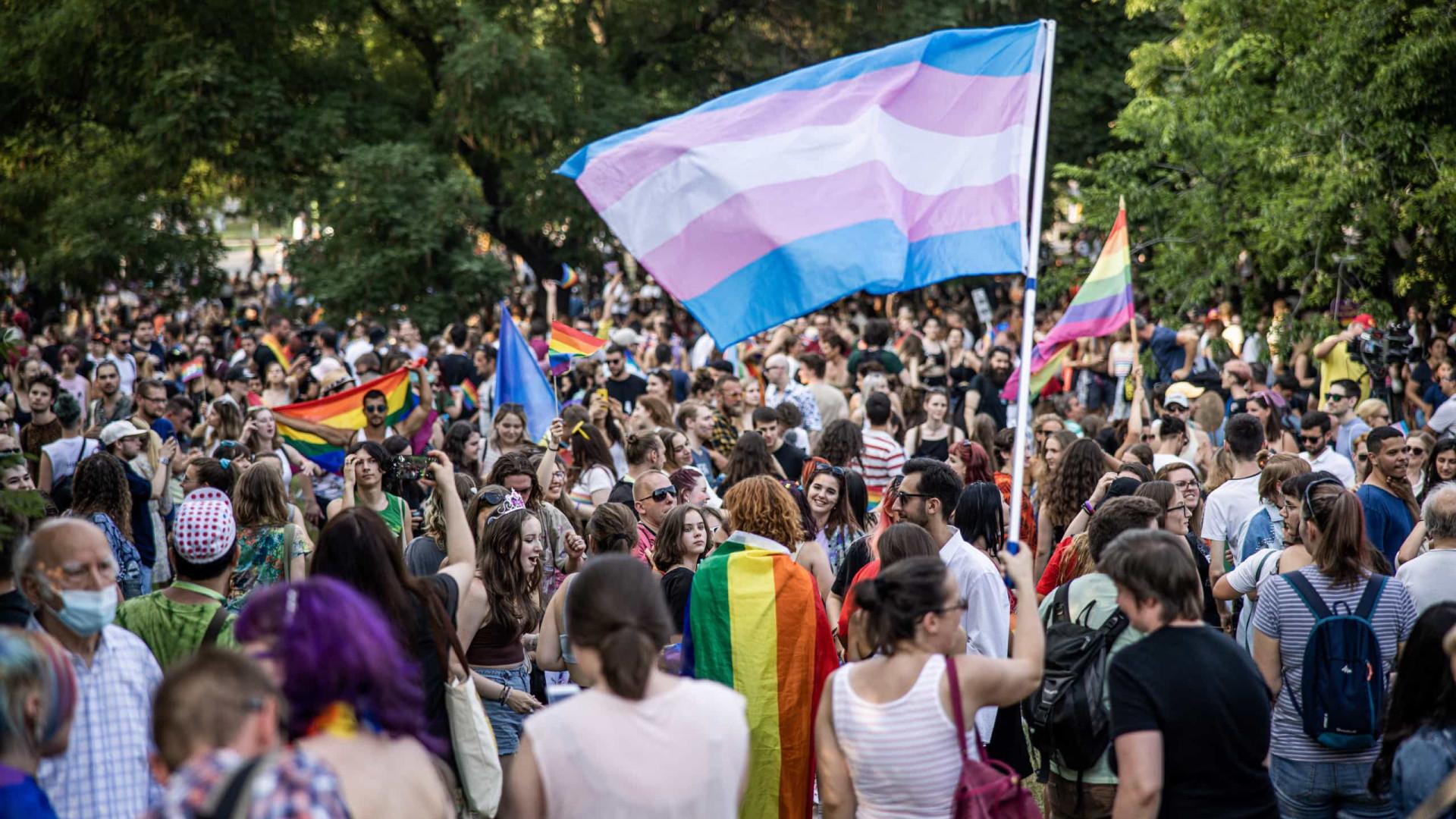 Parada reúne milhares na Hungria contra lei anti-LGBT