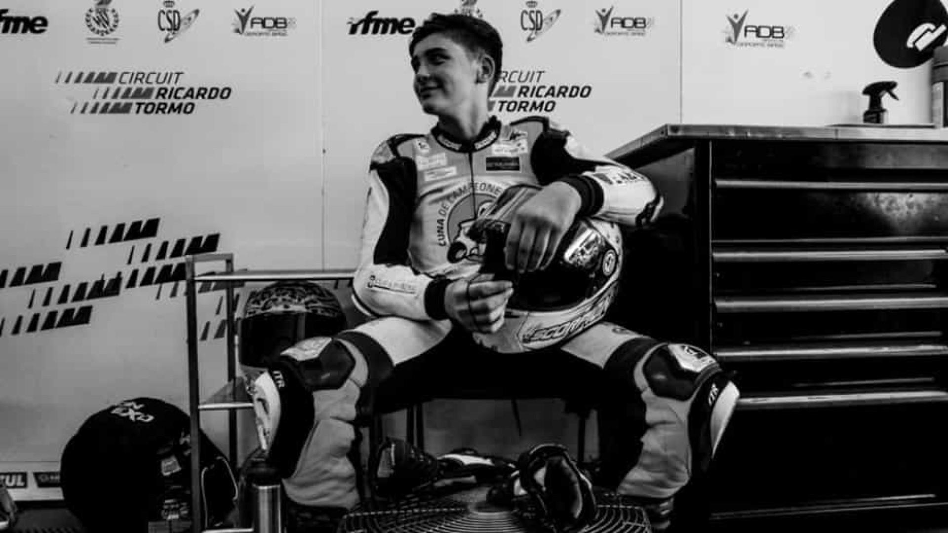 Garoto de 14 anos morre após sofrer acidente em etapa de motociclismo