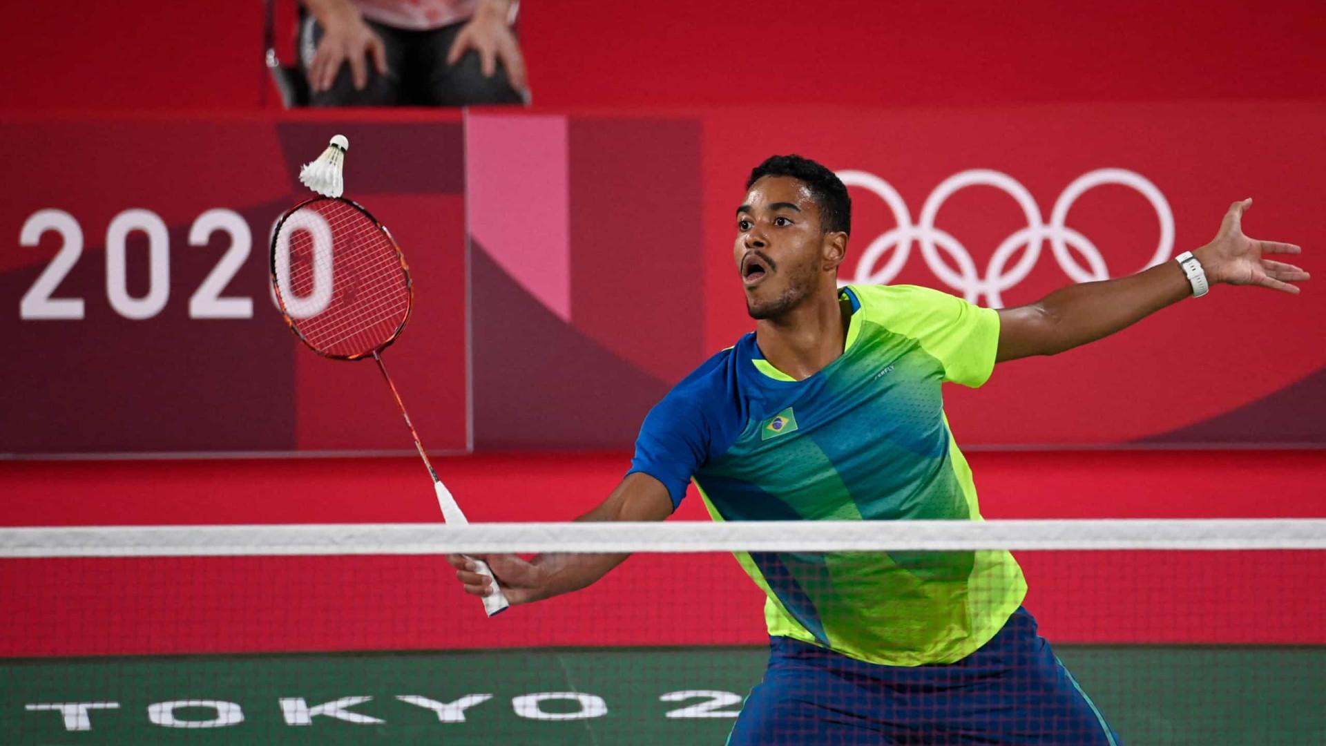 Ygor Coelho conquista primeira vitória do badminton do Brasil em Olimpíadas