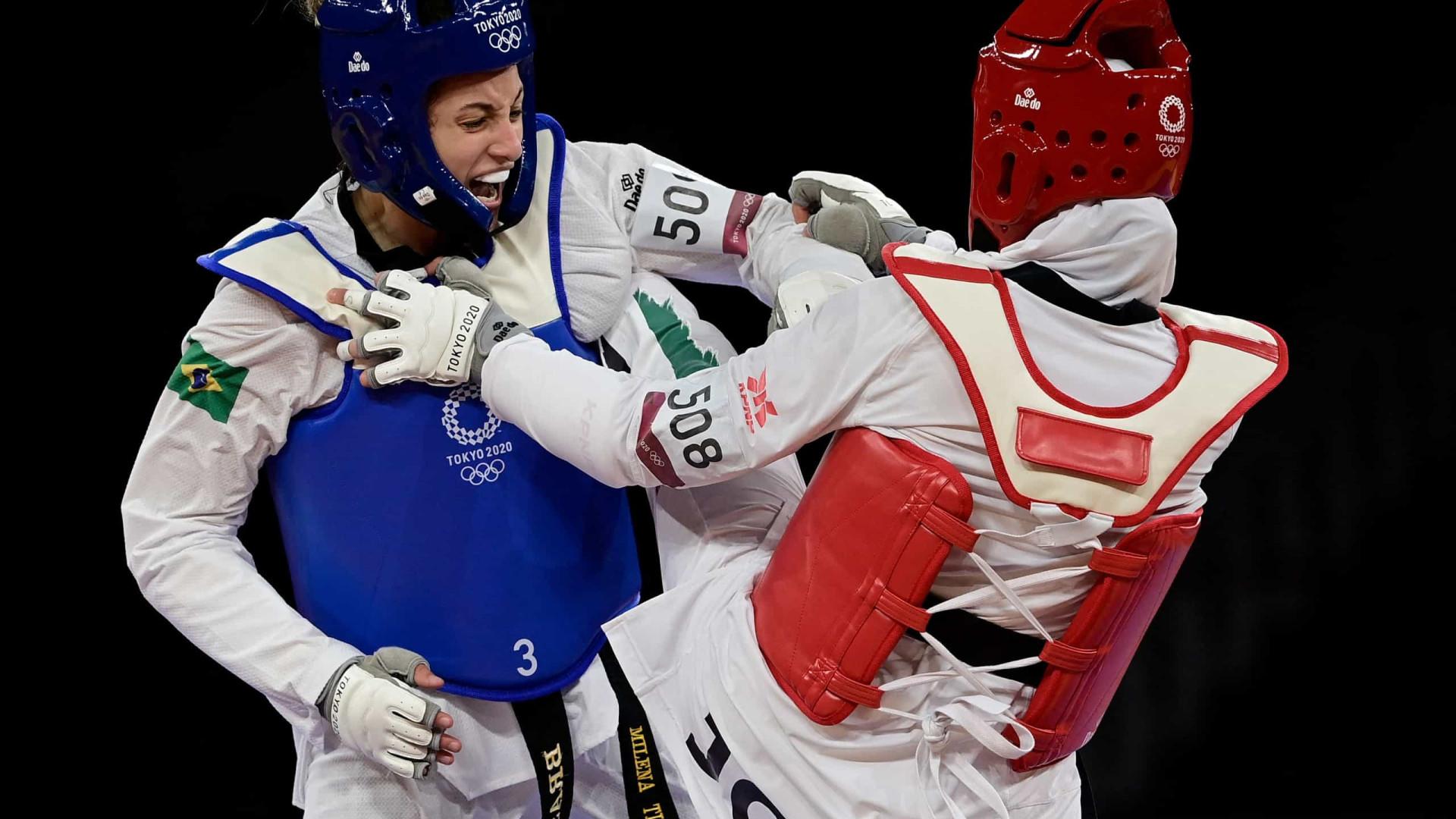 Milena Titoneli perde de marfinense e fica sem medalha de bronze no tae kwon do