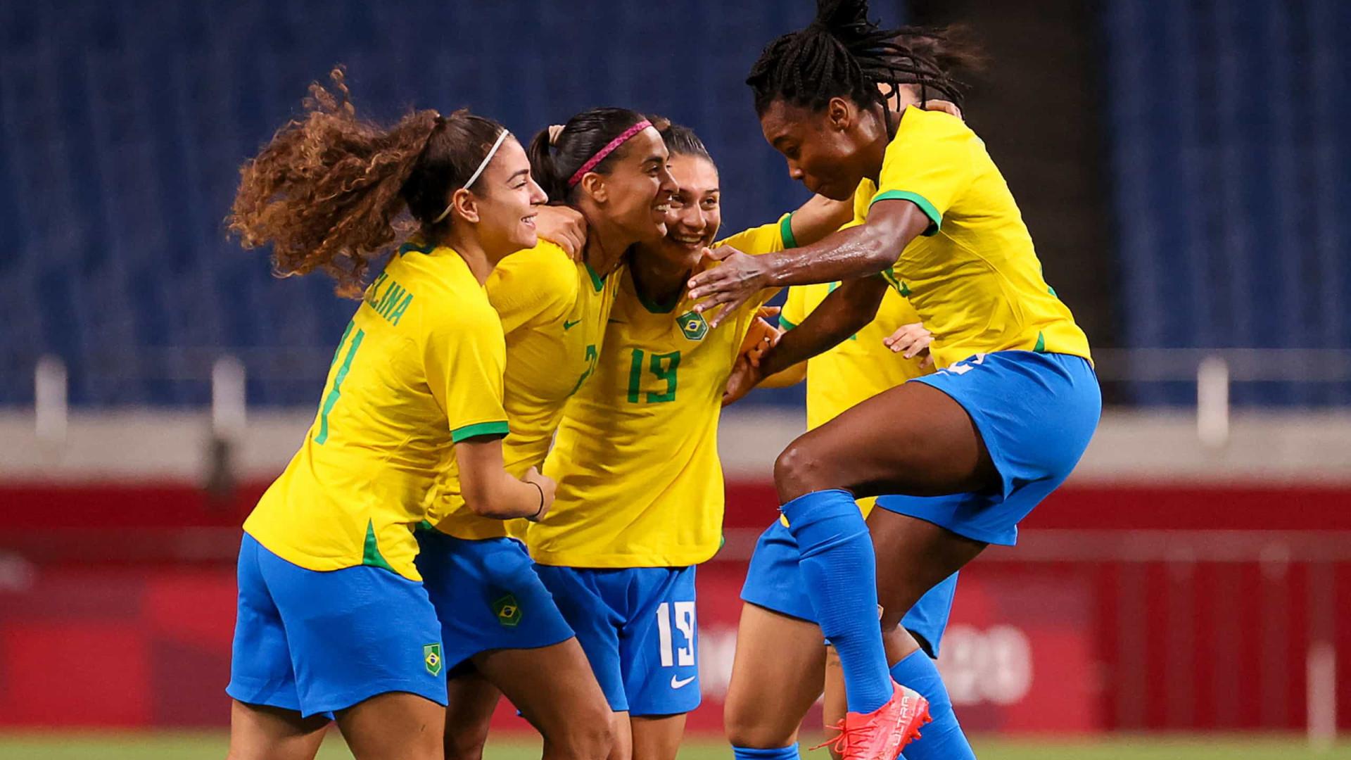 Brasil vence a Zâmbia, avança em 2º e enfrenta o Canadá nas quartas
