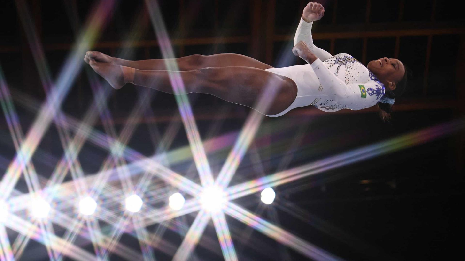 Sem Biles, Rebeca faz final na ginástica para cumprir previsão de 1ª treinadora