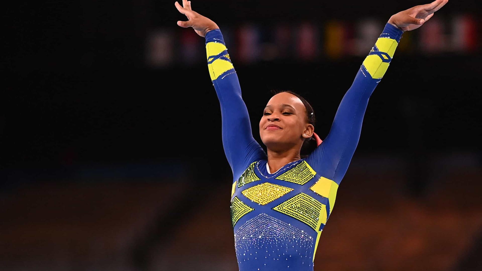 Rebeca Andrade faz história e conquista a prata na ginástica em Tóquio