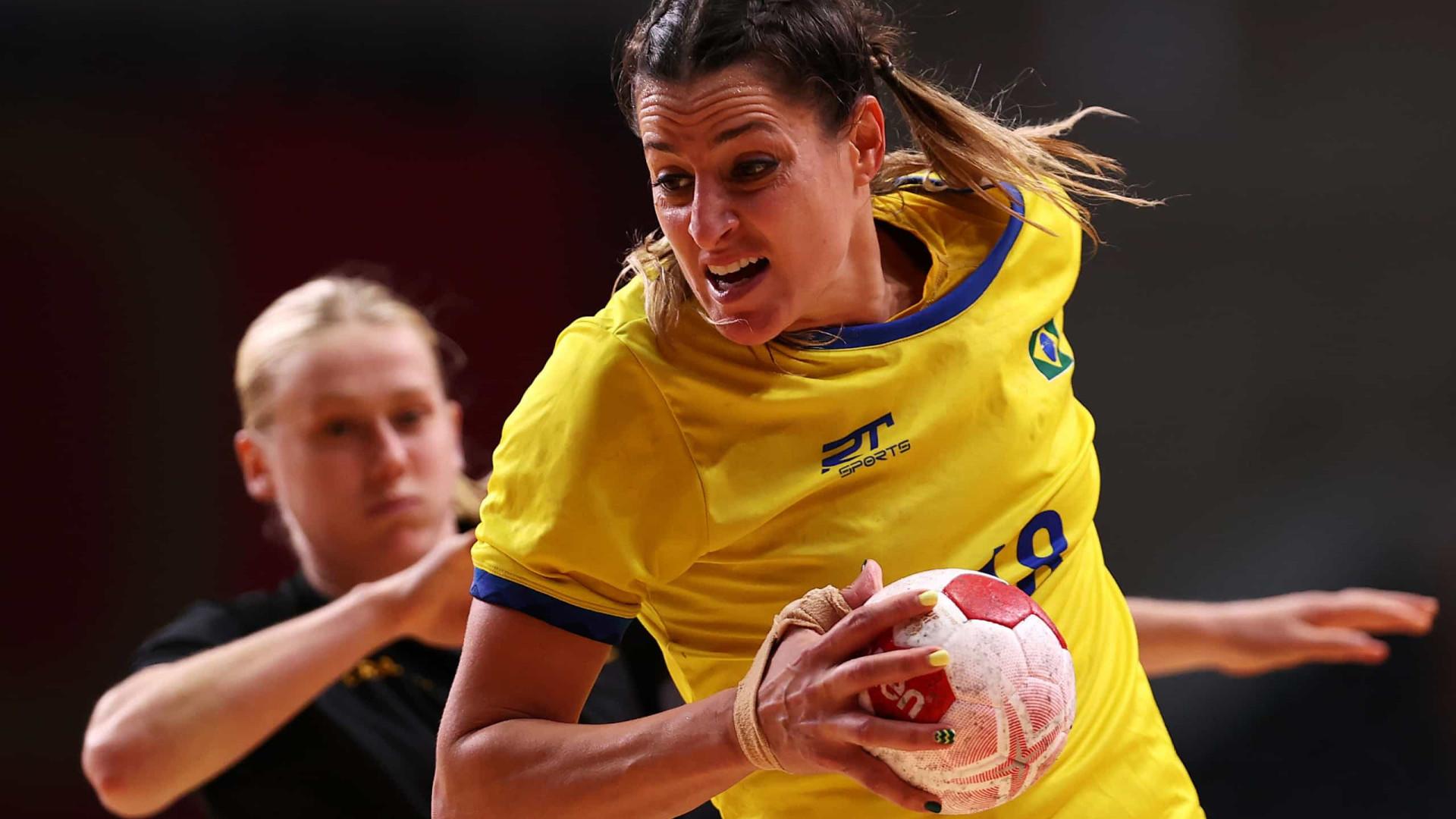Brasil perde da Suécia e sofre segunda derrota consecutiva no handebol feminino