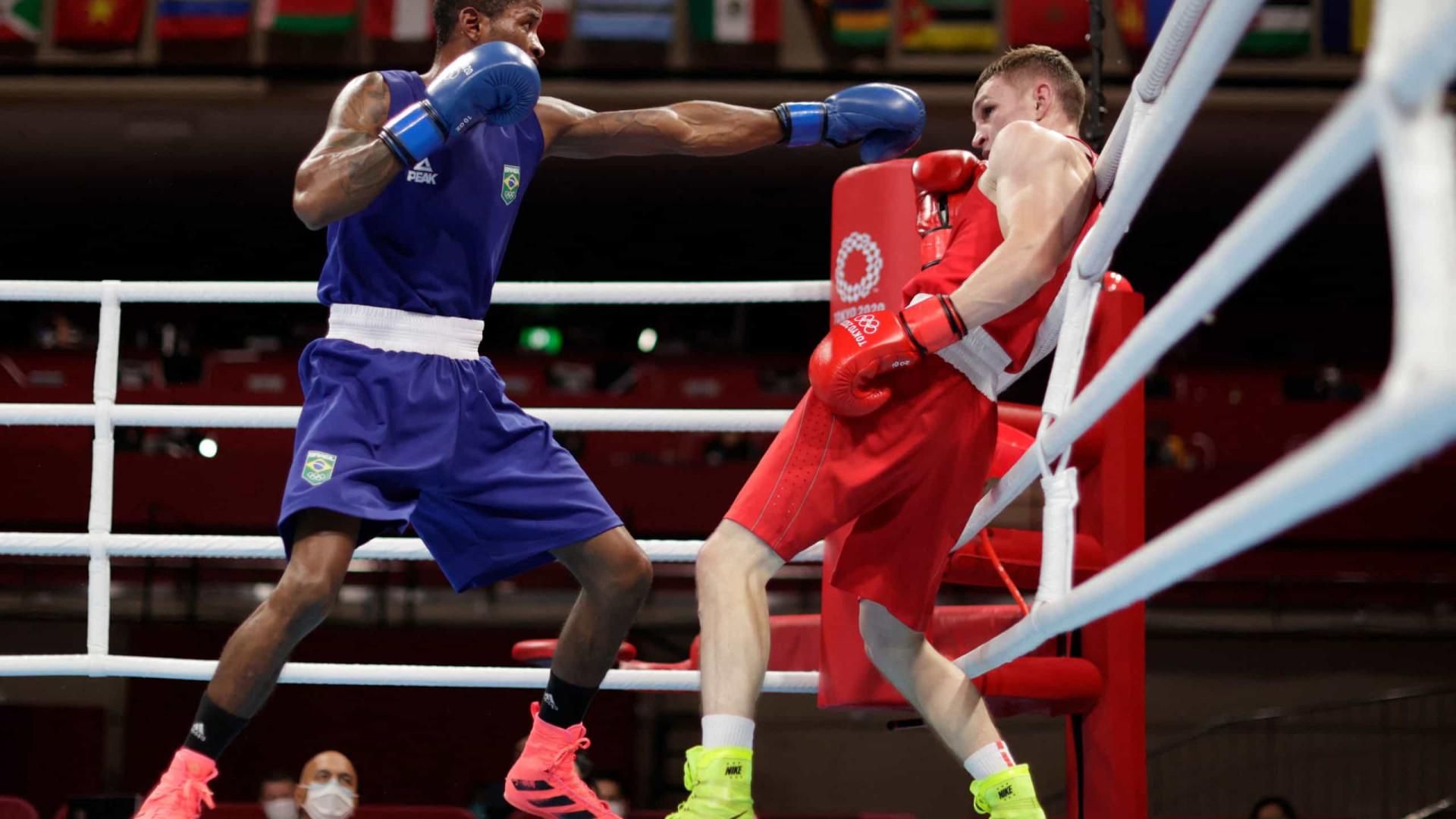 Wanderson de Oliveira vence no boxe e vai enfrentar cubano nas quartas em Tóquio