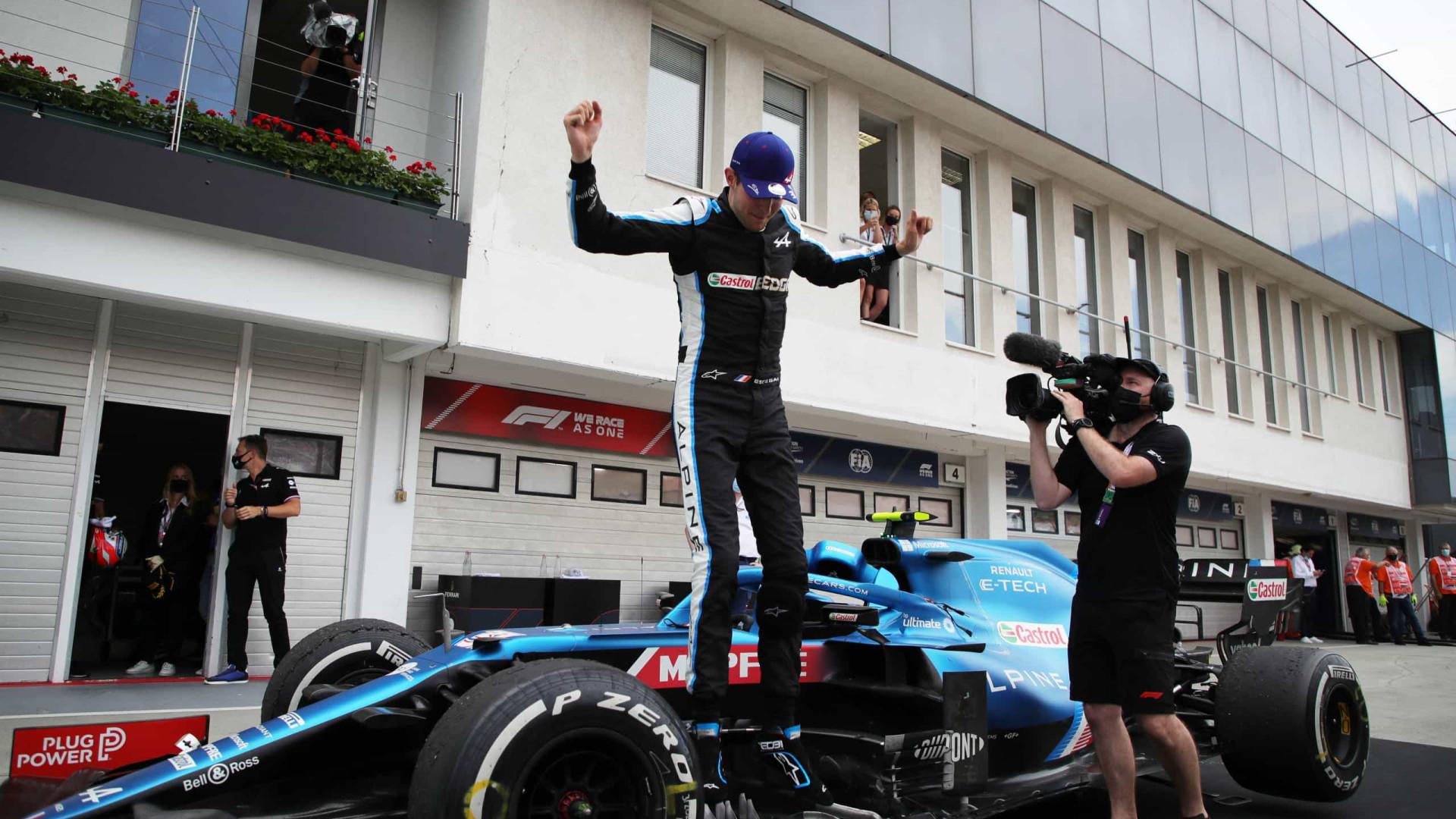 Em corrida maluca, Ocon vence e Hamilton retoma ponta do Mundial de F1