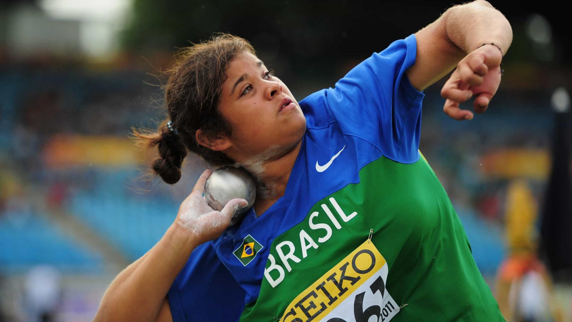 Izabela da Silva está fora da final do lançamento de disco dos Jogos Olímpicos