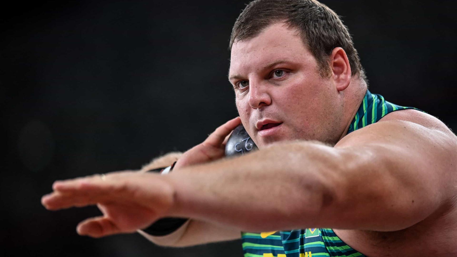 Brasileiro Darlan Romani vai à final do arremesso de peso em Tóquio-2020
