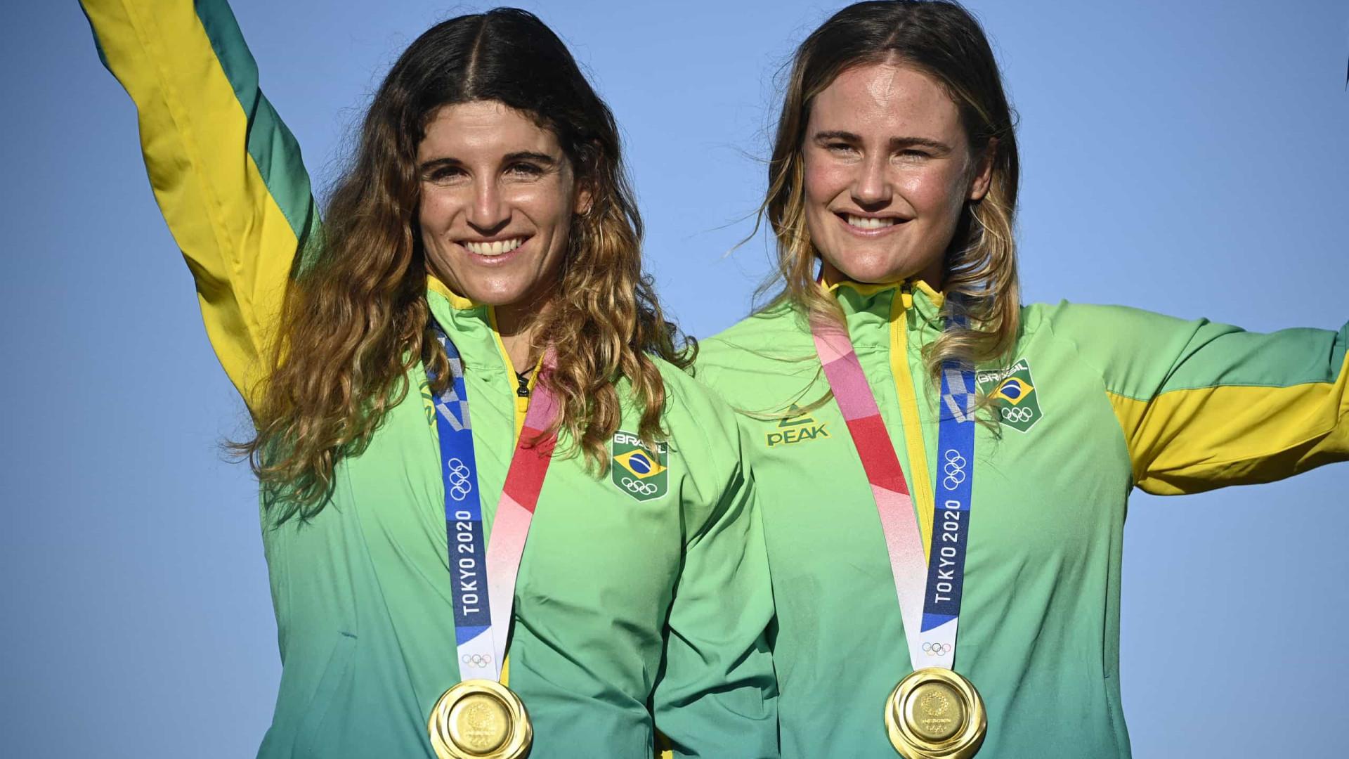'Sou do Rio, de Niterói, sabemos que a corrente favorece um lado', diz Martine sobre tática do ouro