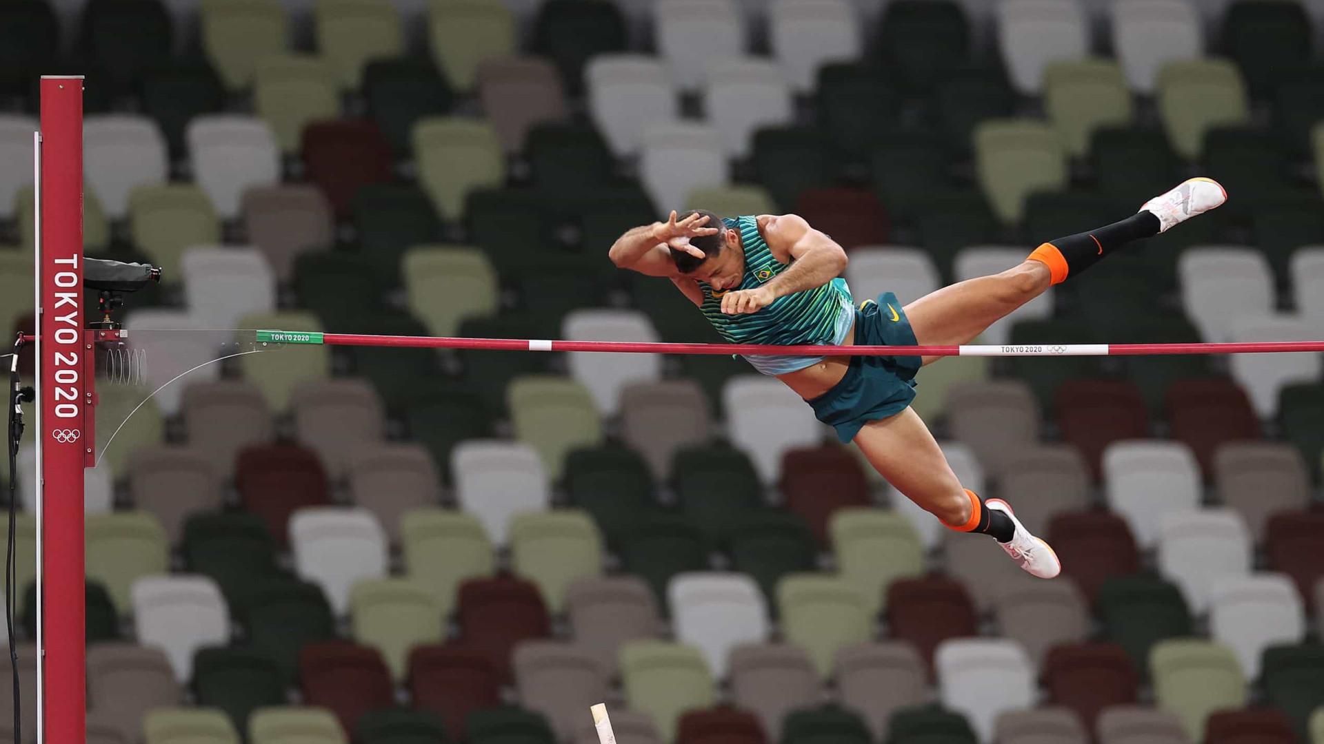 Brasileiro Thiago Braz conquista o bronze no salto com vara