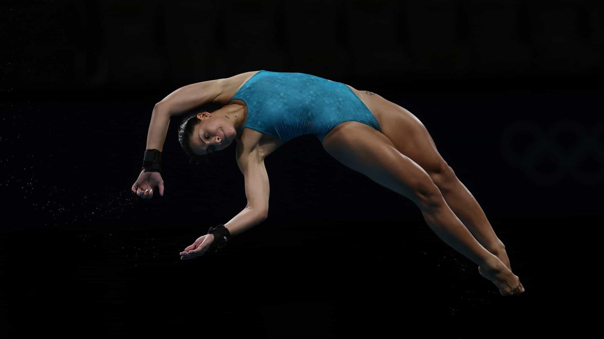 Ingrid Oliveira é eliminada nos saltos ornamentais