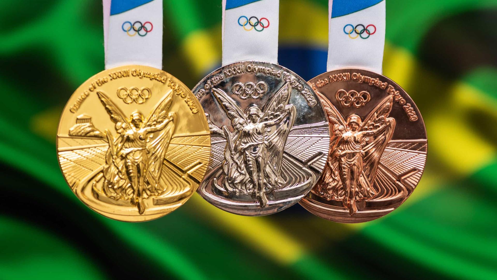 Brasil chega a 19 medalhas e alcança desempenho raro para ex-anfitrião