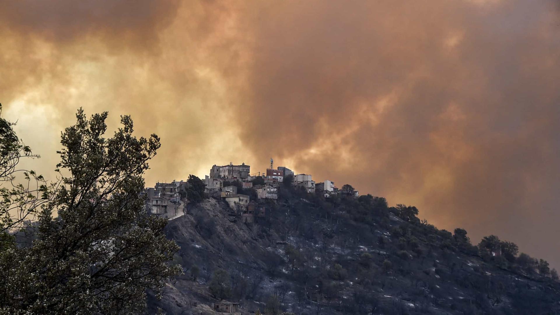 Incêndio florestal faz pelo menos 42 mortos