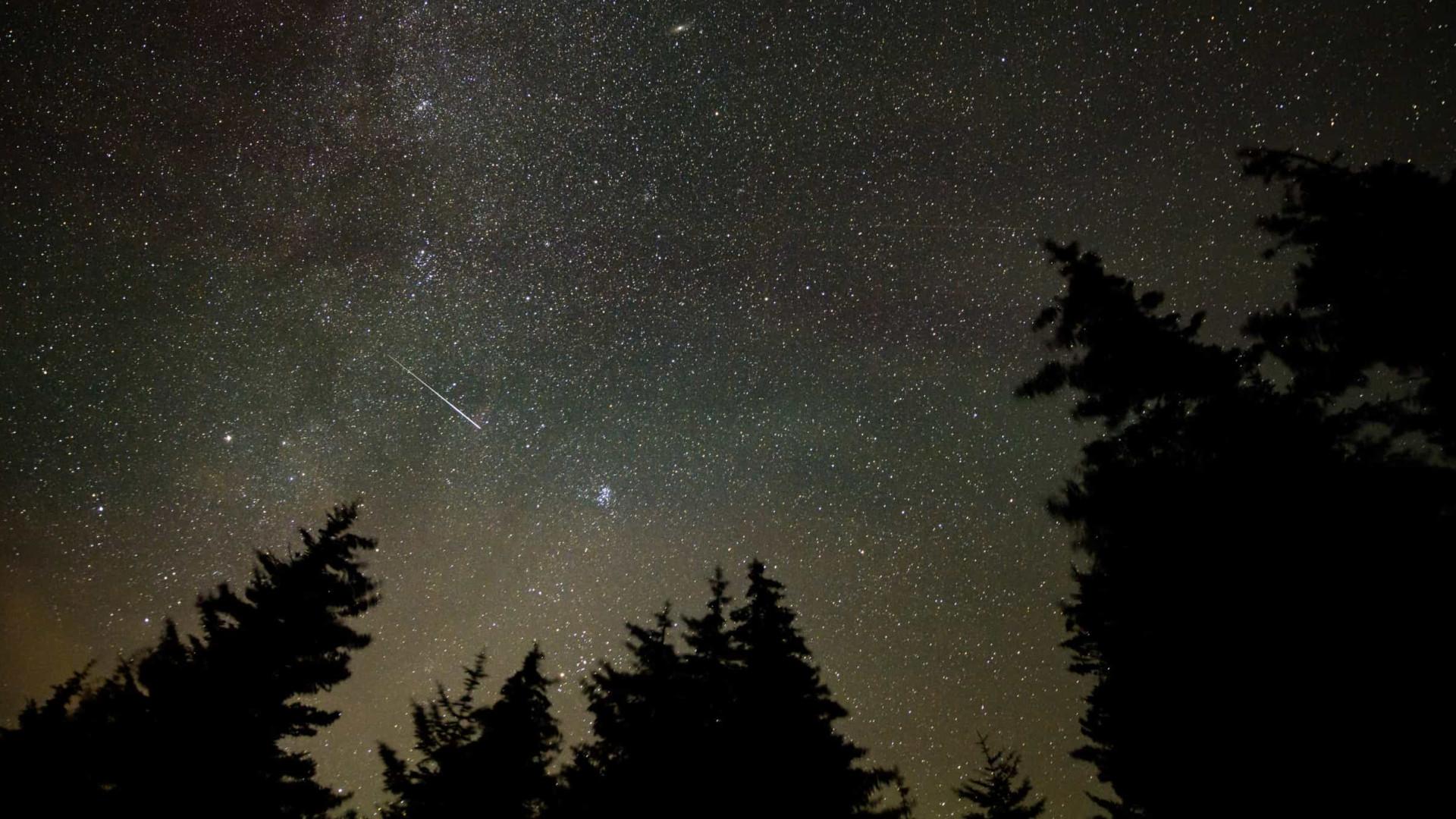 Perseidas: As fotografias da chuva de meteoros desta semana