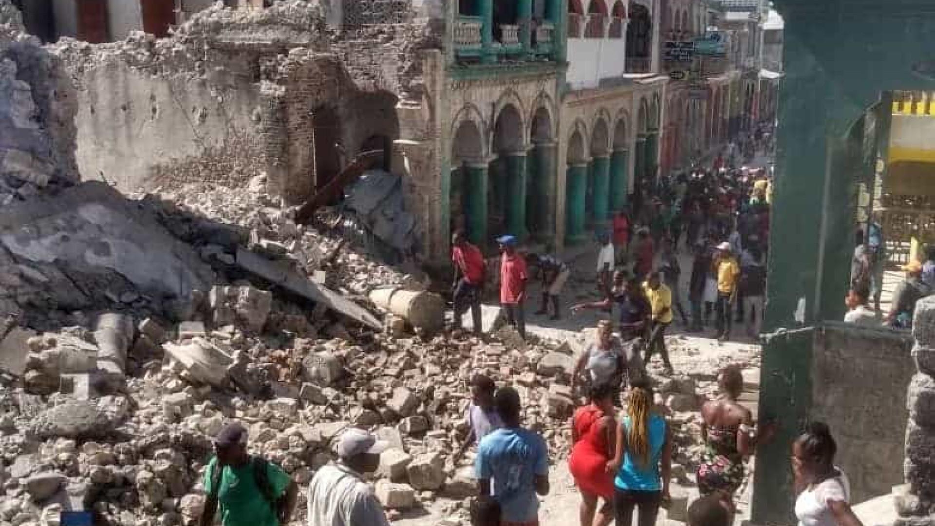 Terremoto de magnitude 7,2 atinge o Haiti e deixa ao menos 227 mortos