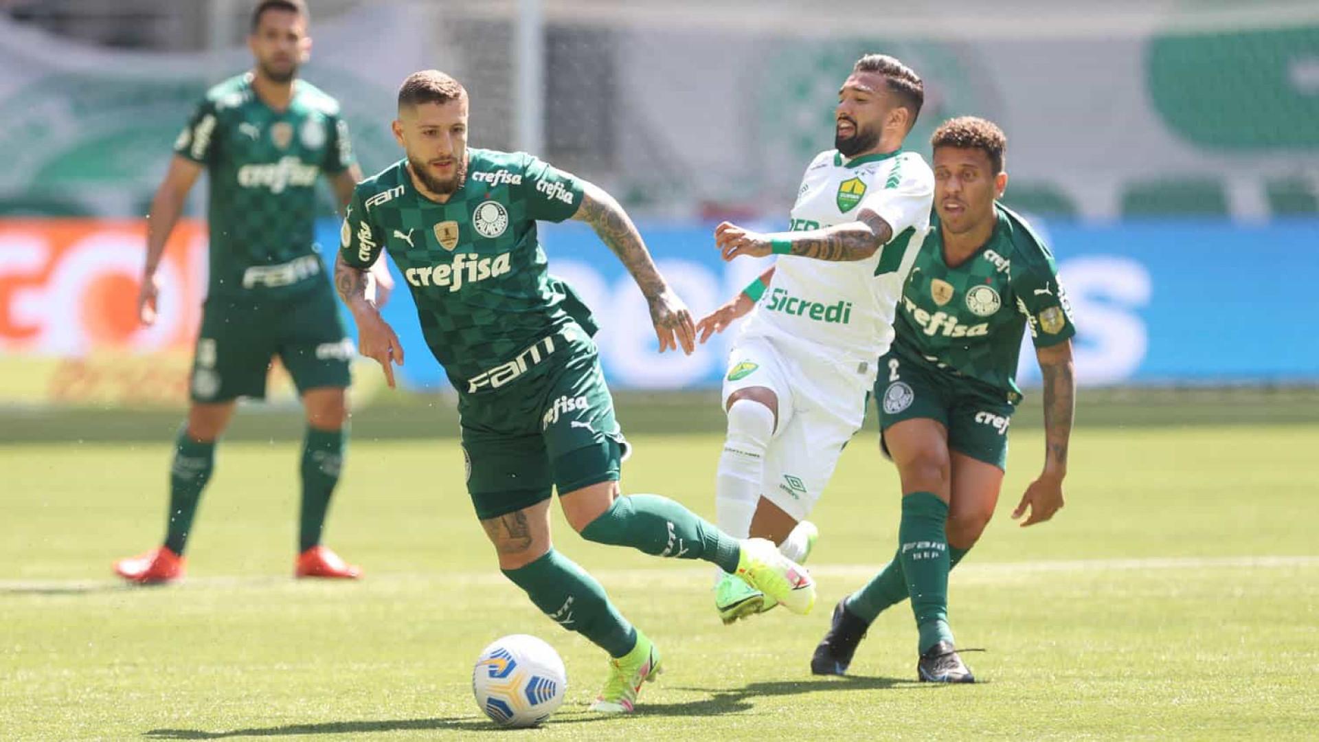 Palmeiras é derrotado pelo Cuiabá e soma quarto jogo sem vitórias no Brasileirão