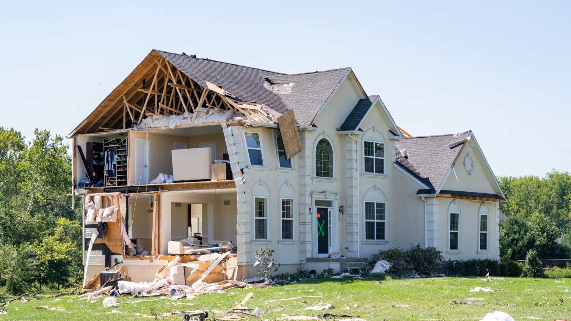 As imagens dos estragos causados pelo devastador furacão Ida nos EUA