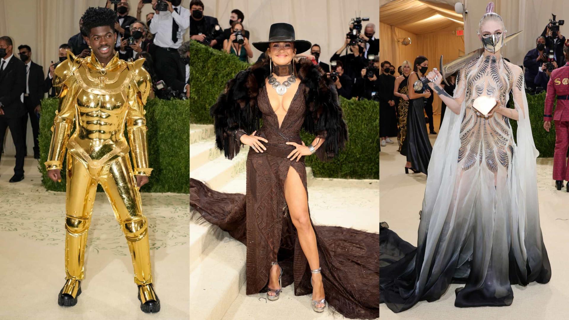 A evolução das estrelas no Met Gala: dos looks sem graça aos extravagantes!