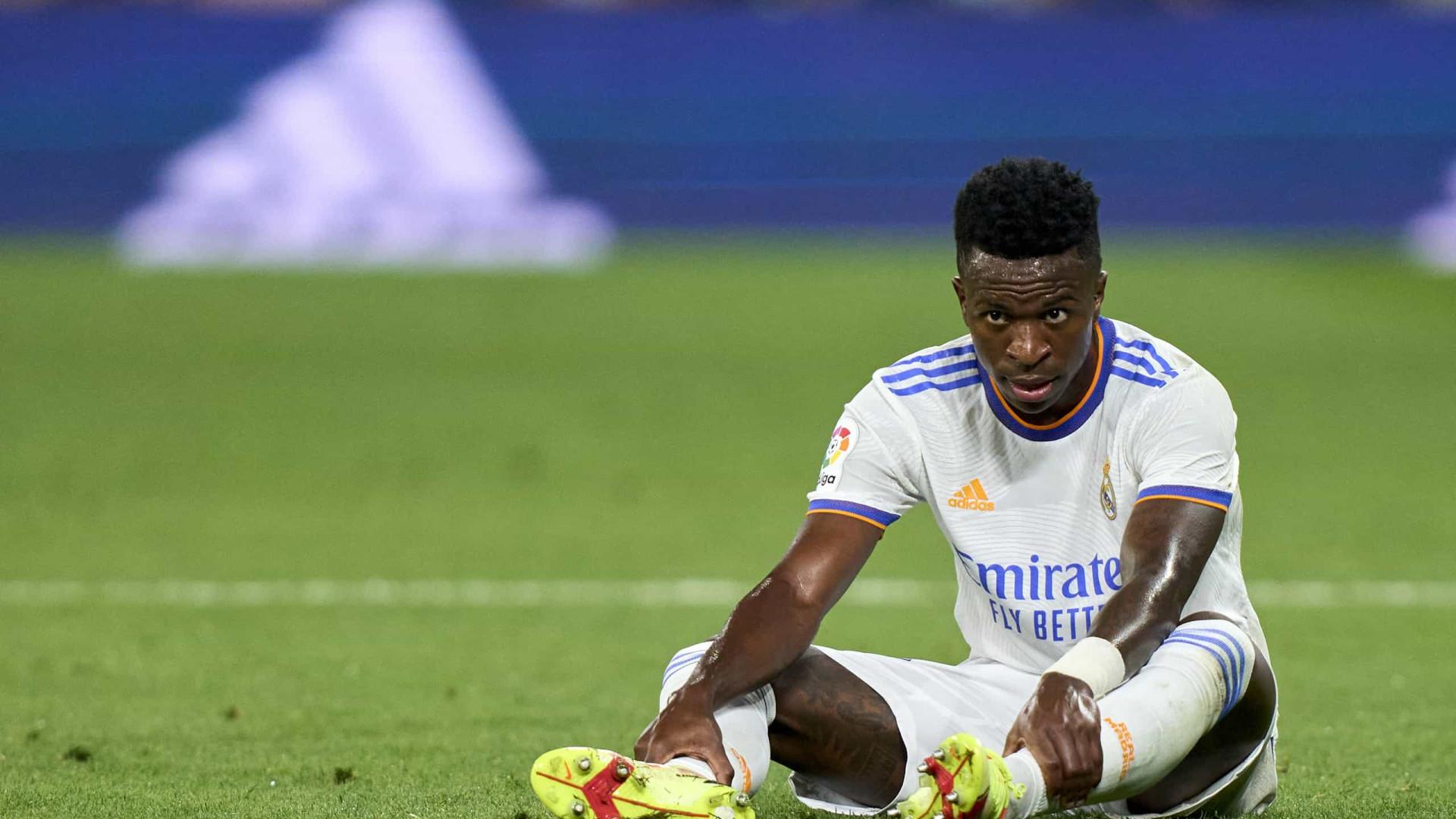 Vinicius Junior comemora boa fase no Real Madrid: 'Me sinto bem comigo mesmo'