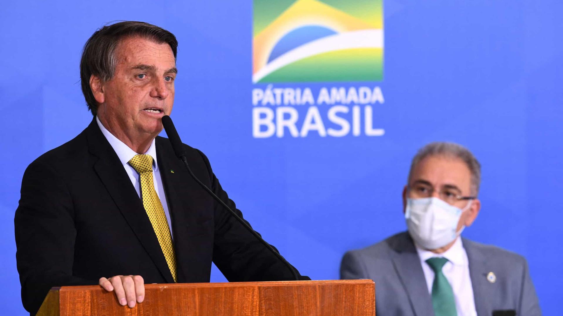 Anvisa recomenda isolamento de comitiva de Bolsonaro após infecção de Queiroga