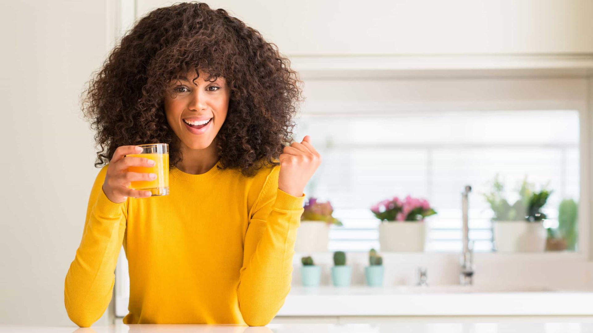 Para uma pele jovem e resplandecente, beba este suco natural delicioso