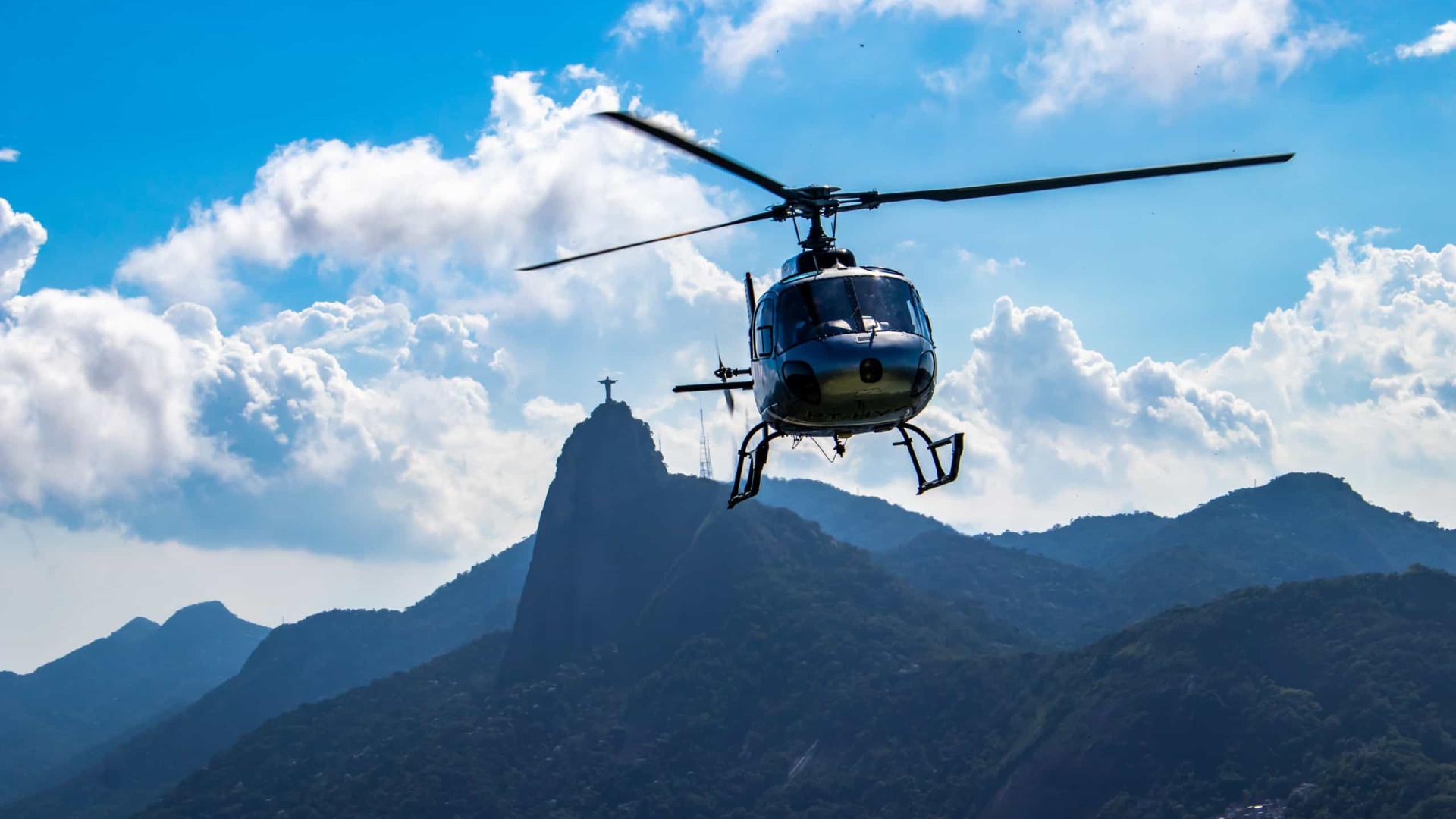 Polícia do Rio identifica três supostos envolvidos em sequestro de helicóptero