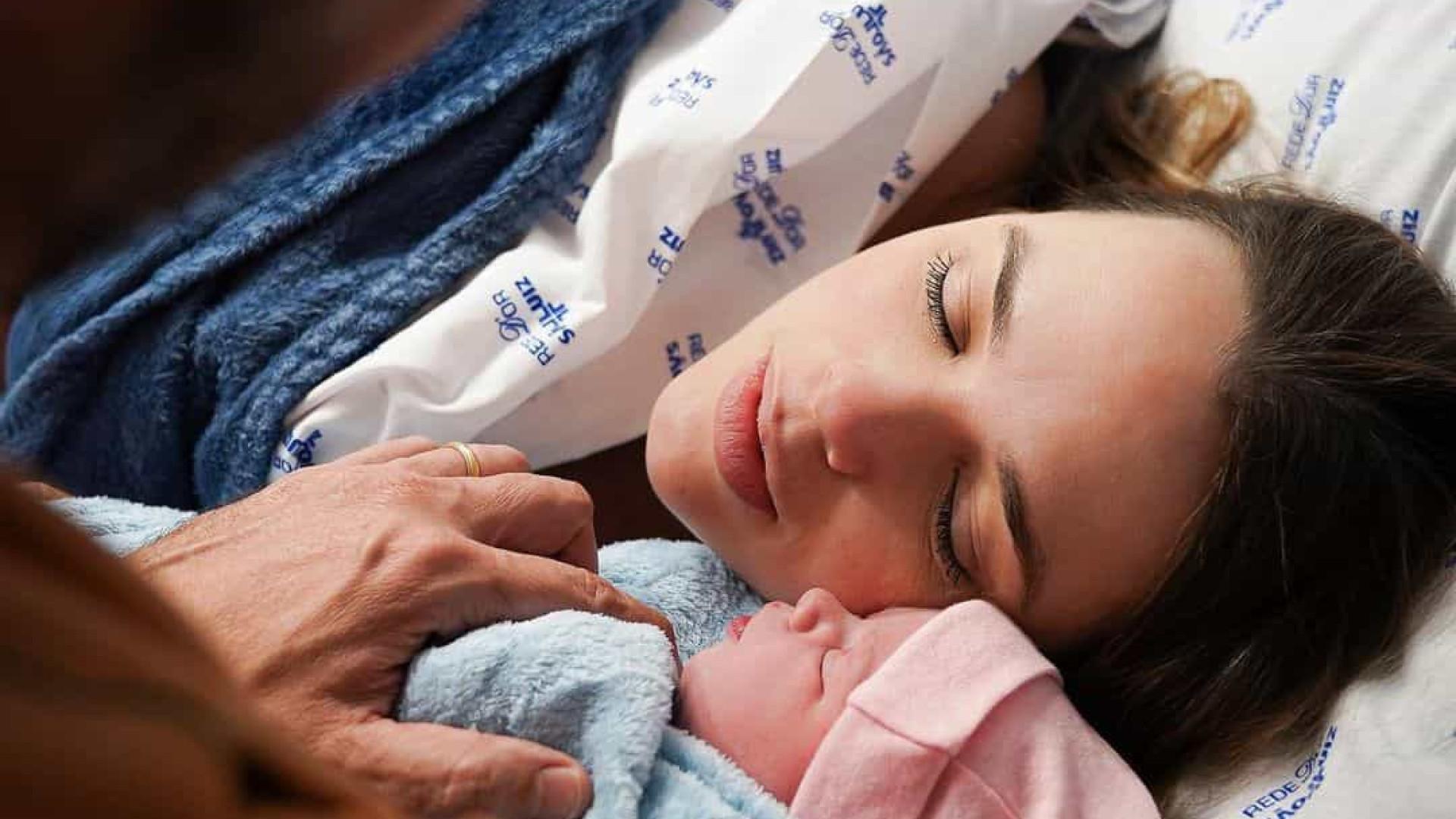 'Nosso mais novo amor', afirma Thaeme sobre nascimento de segunda filha