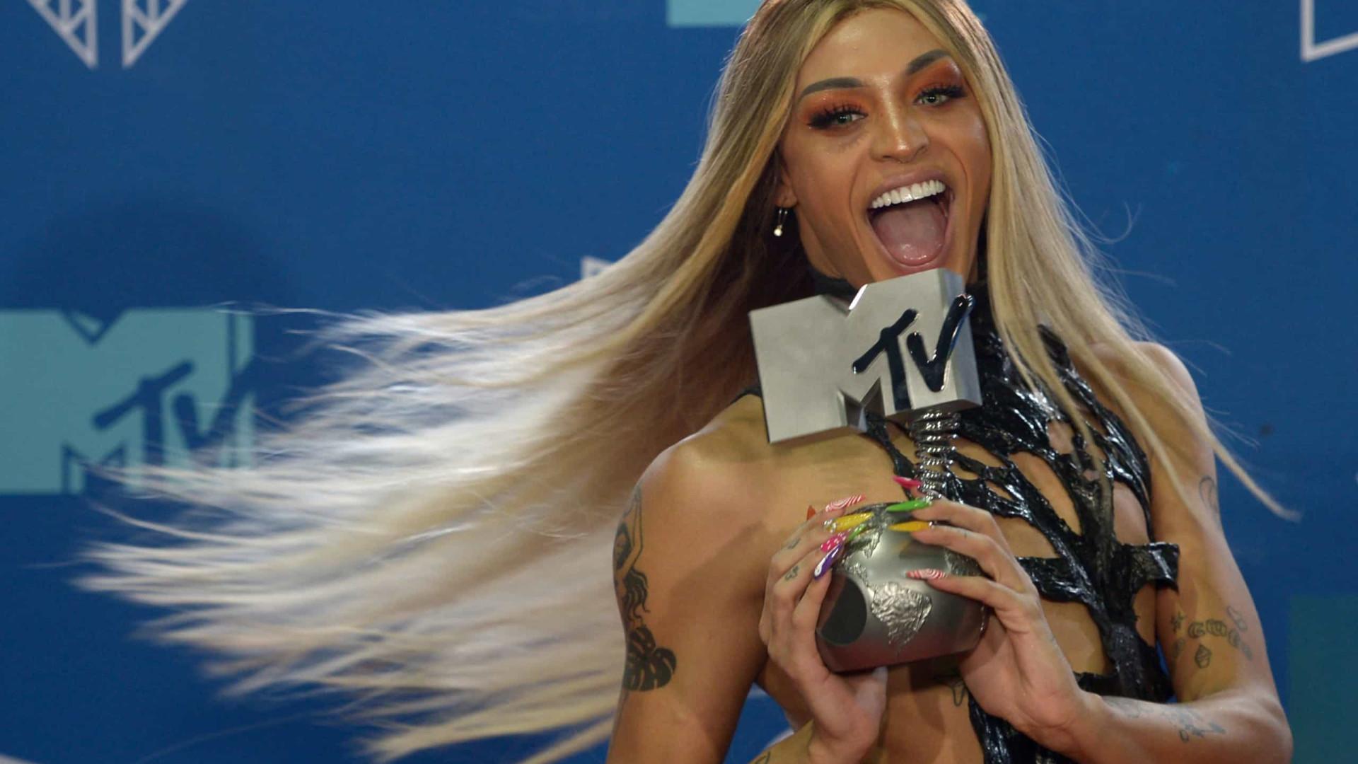Pabllo Vittar lidera em troféus do MTV Miaw 2021