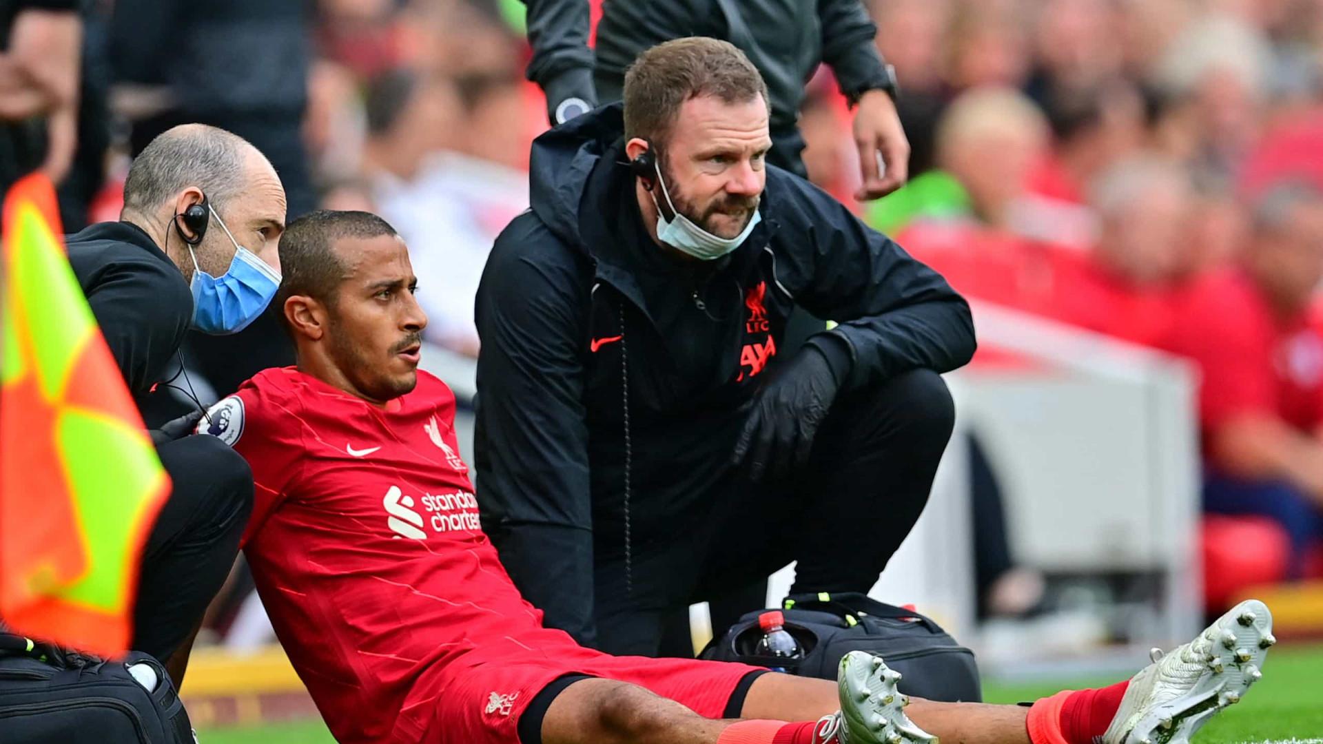 Jurgen Klopp revela que Thiago Alcântara só retorna ao Liverpool em outubro