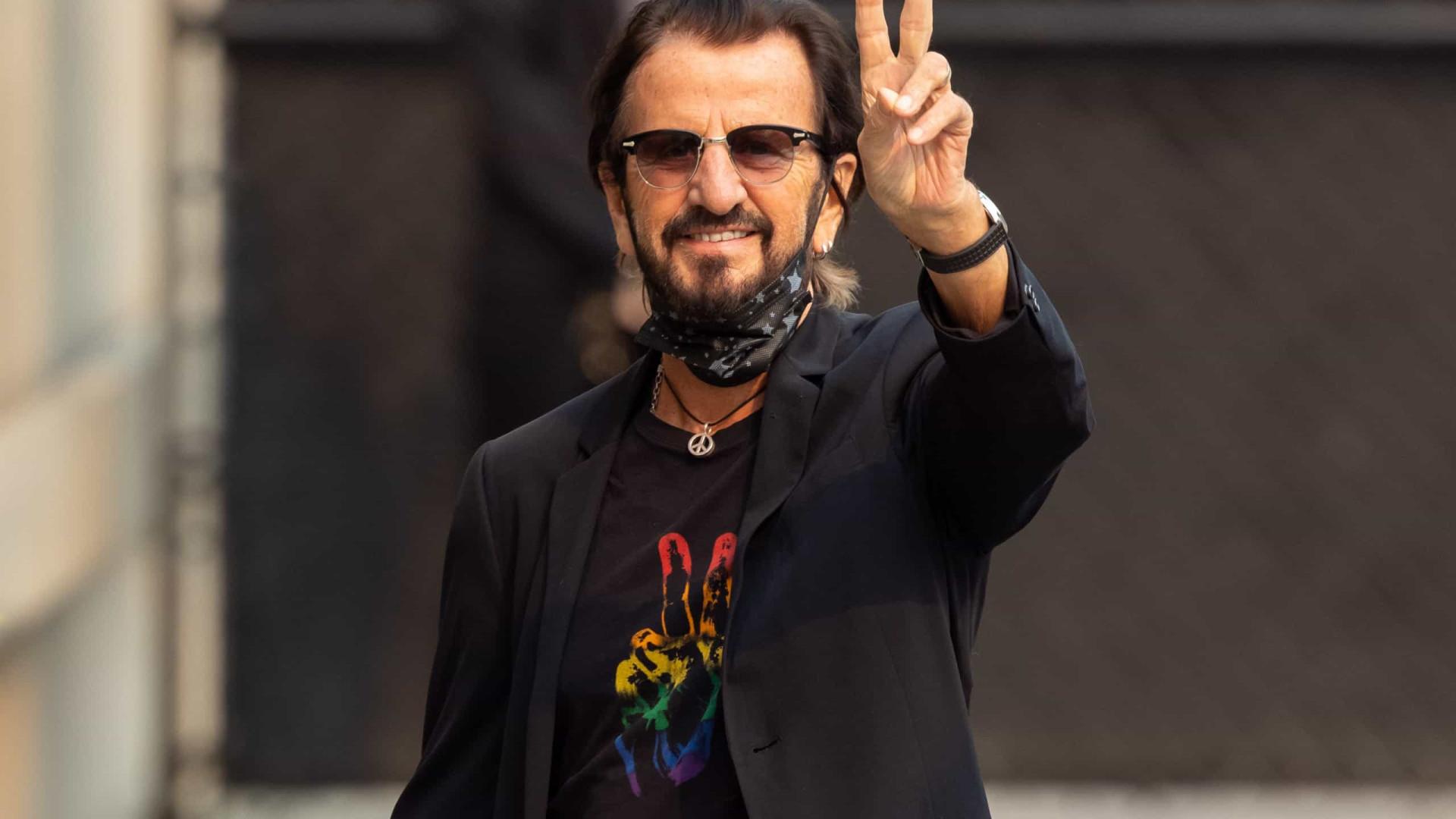 Ringo Starr, que lança EP, recorda Charlie Watts e fala sobre o fim dos Beatles