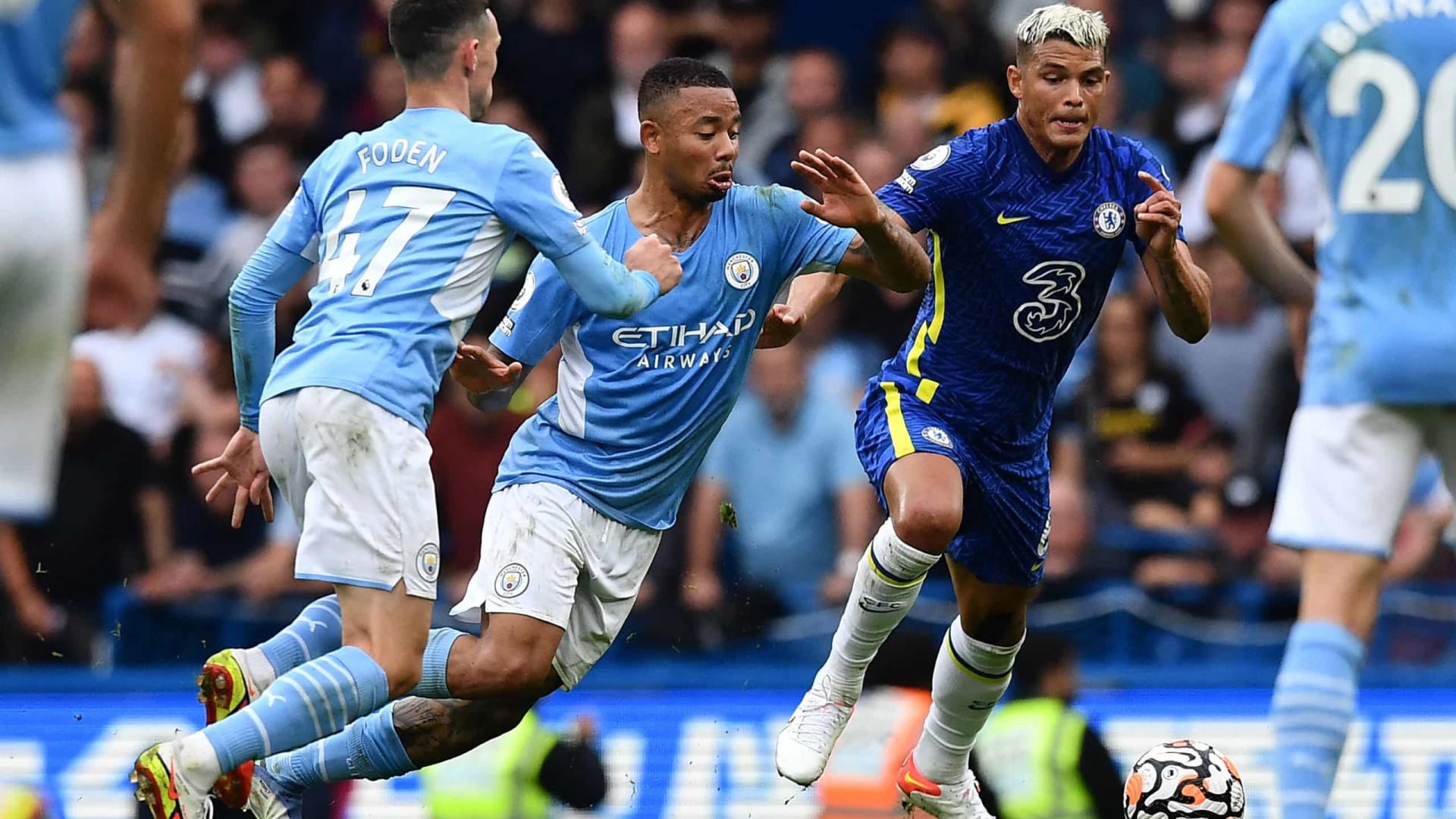Gabriel Jesus dá vitória ao City sobre o Chelsea e United é surpreendido em casa