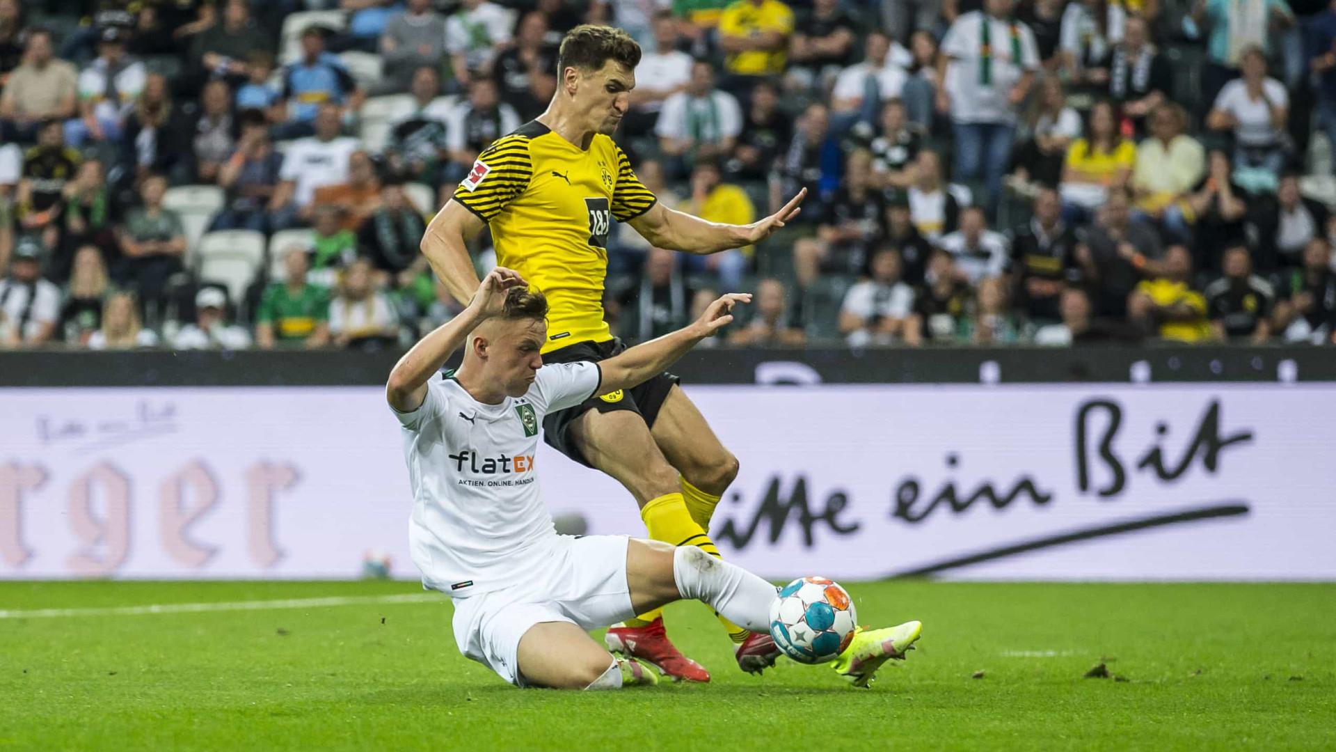 Sem Haaland, Dortmund perde e é ultrapassado pelo Leverkusen; RB Leipzig goleia