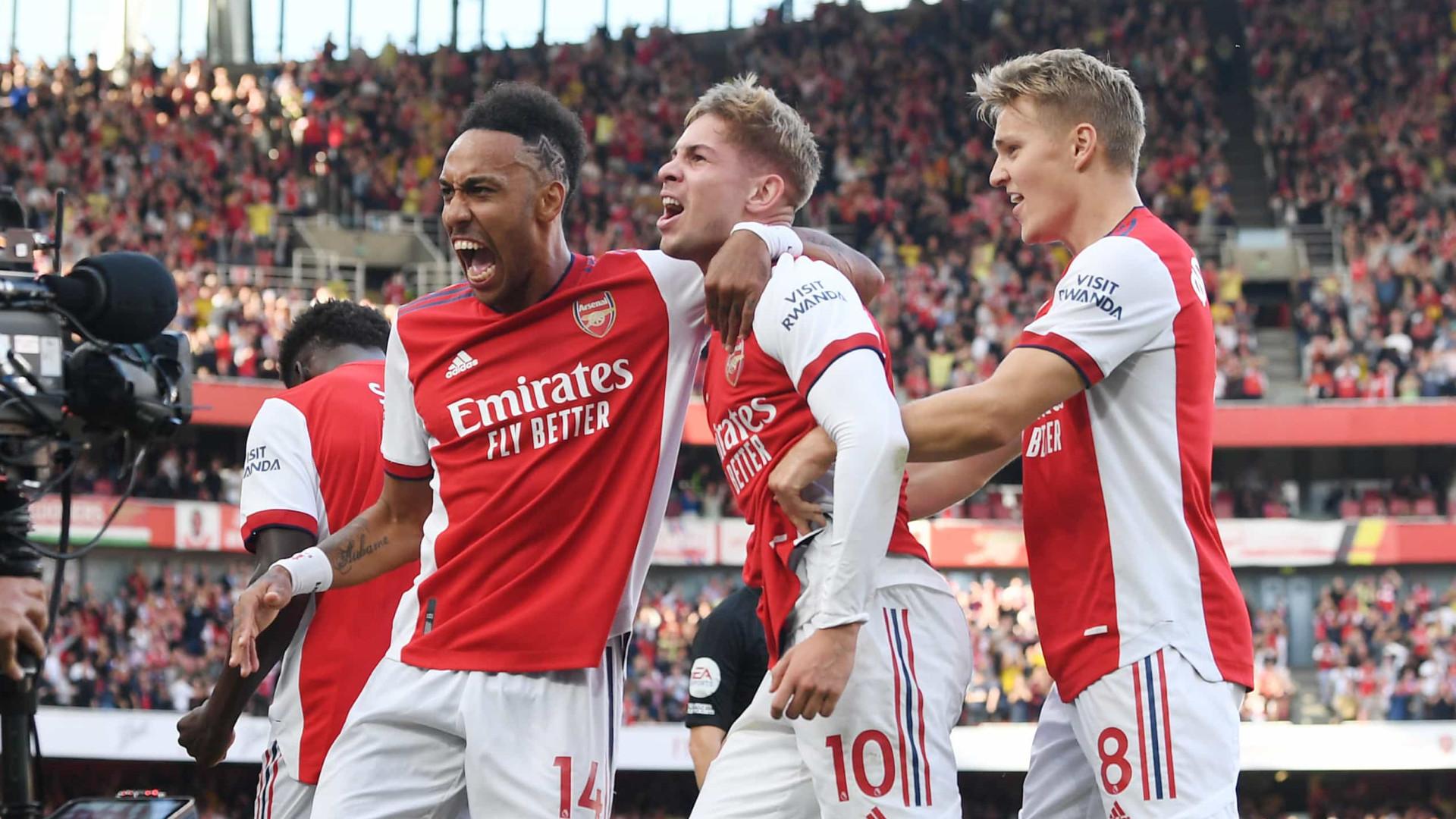 Arsenal vence clássico com o Tottenham após primeiro tempo perfeito e três gols