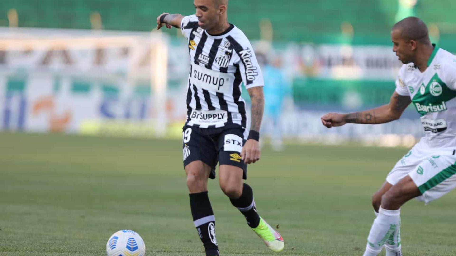Santos volta a decepcionar, perde do Juventude e segue ameaçado pelo rebaixamento
