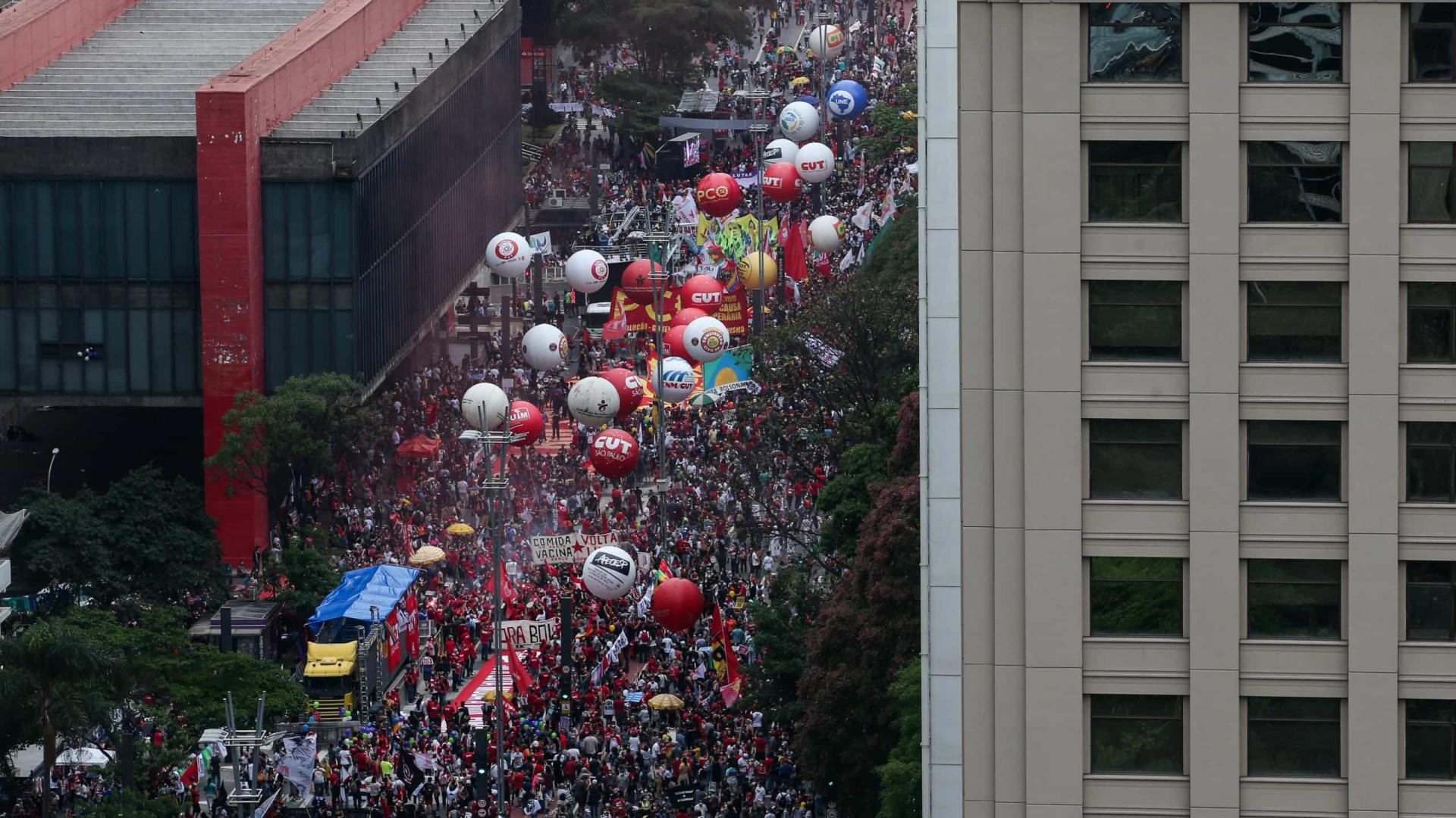 Organizadores do 'fora, Bolsonaro' já convocam para ato em 15 de novembro