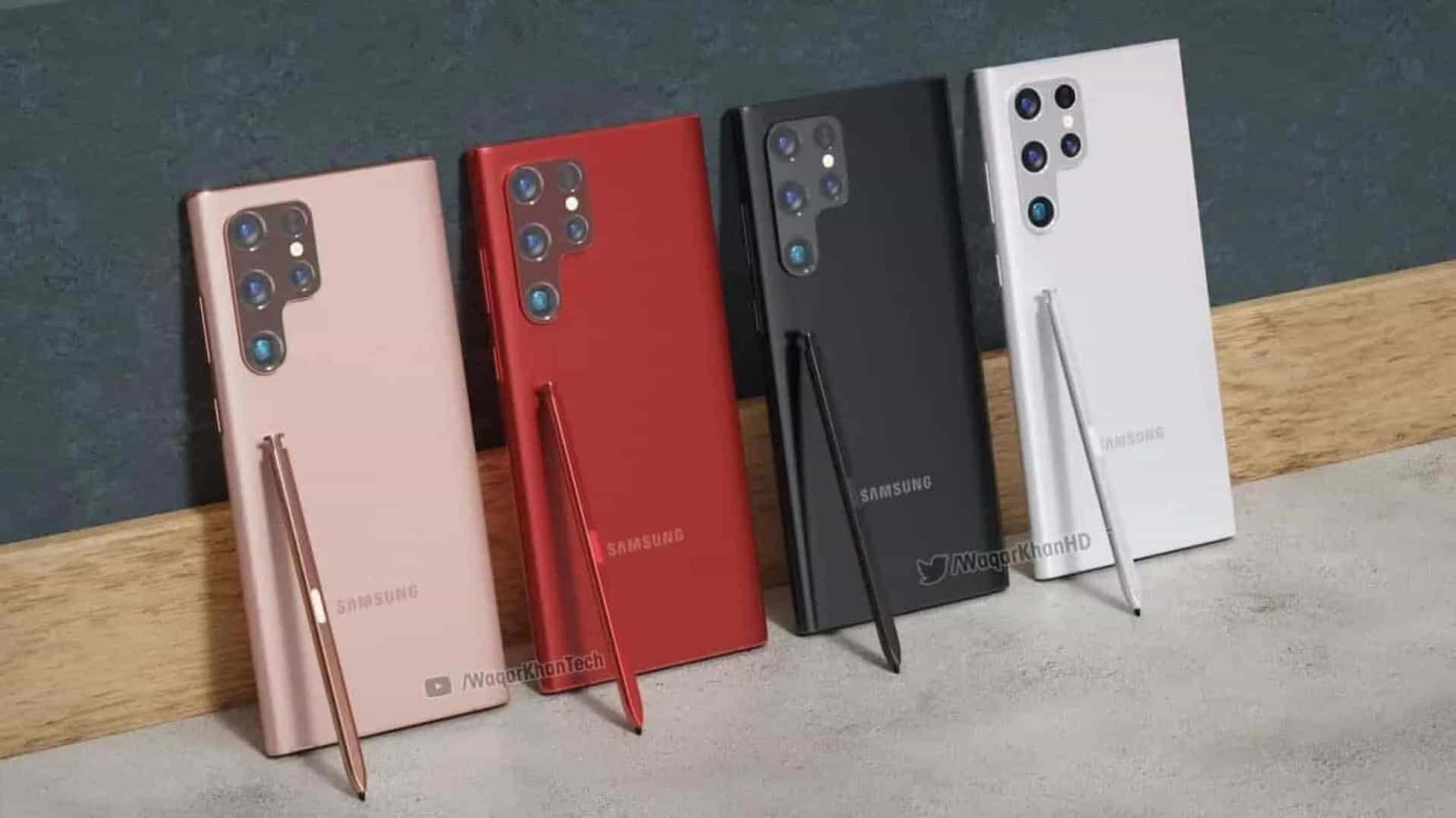 Designer compartilhou 'concept' do próximo lançamento da Samsung